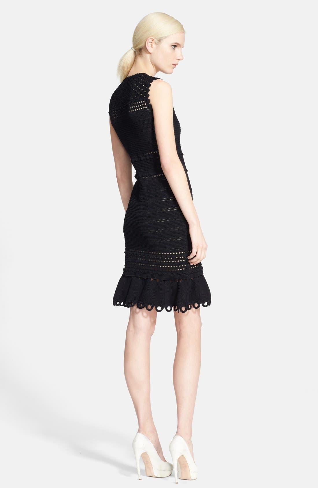 Alternate Image 2  - Alexander McQueen Sleeveless Crochet Dress