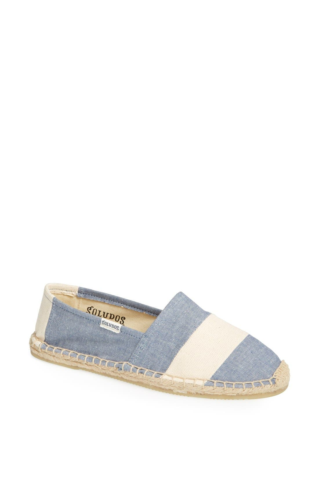 Alternate Image 1 Selected - Soludos 'Barca' Stripe Espadrille (Women)