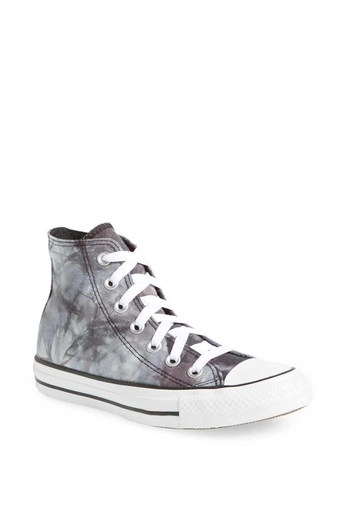 Main Image - Converse Chuck Taylor® All Star® 'Tie Dye' High Top Sneaker (Women)