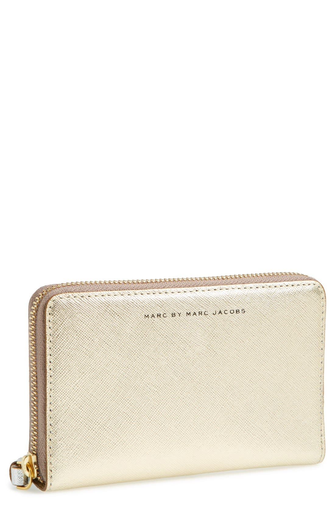 Alternate Image 1 Selected - MARC BY MARC JACOBS 'Sophisticato Mildred' Leather Phone Wallet