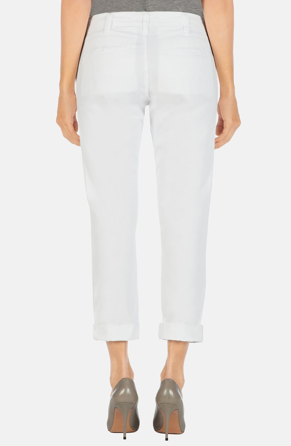 Alternate Image 2  - J Brand 'Inez' Crop Slim Pants