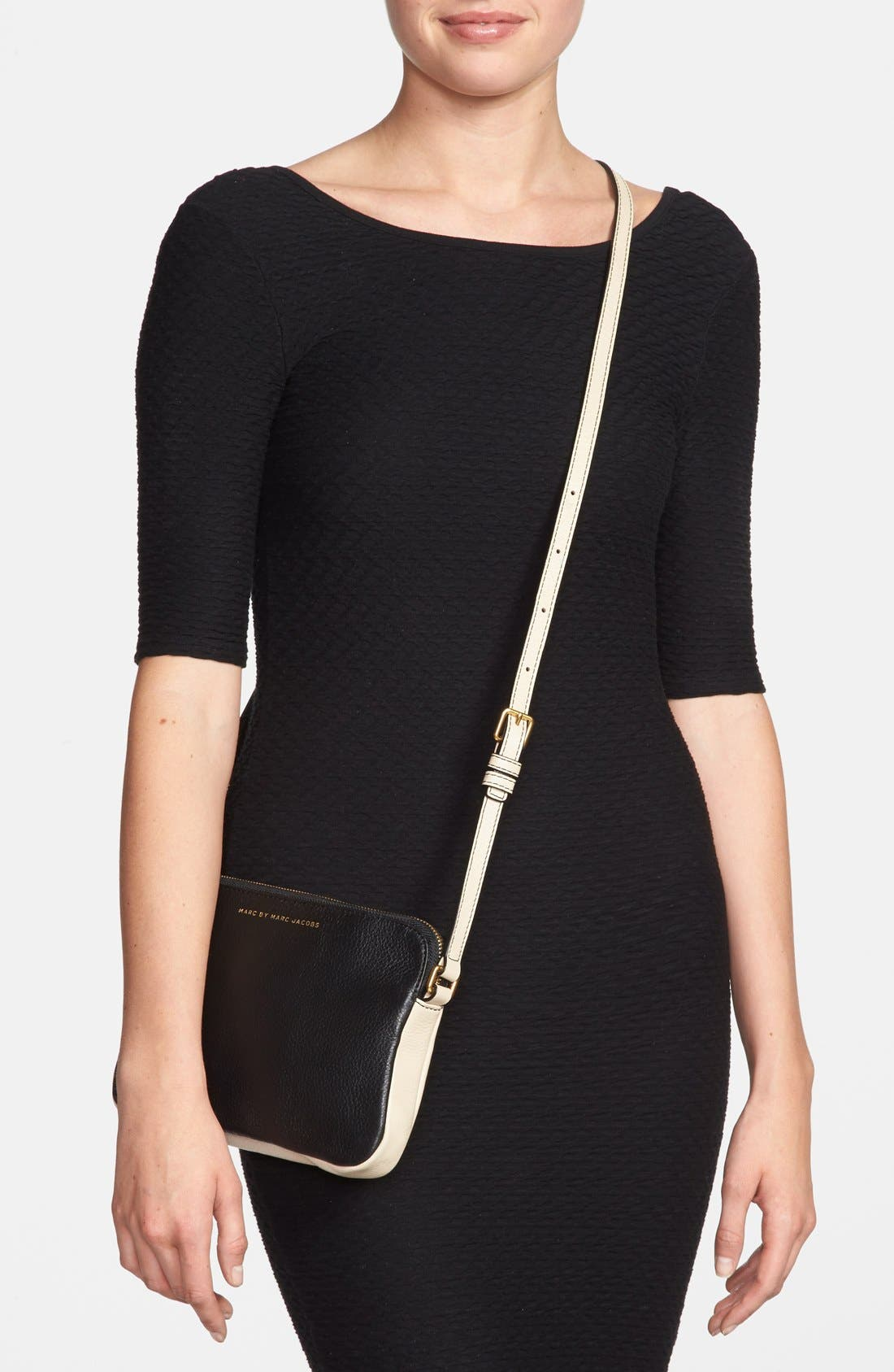 Alternate Image 2  - MARC BY MARC JACOBS 'Sophisticato Dani' Leather Crossbody Bag