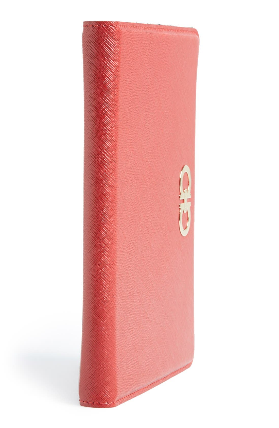 Alternate Image 4  - Salvatore Ferragamo 'Gancini' Leather iPad mini Case