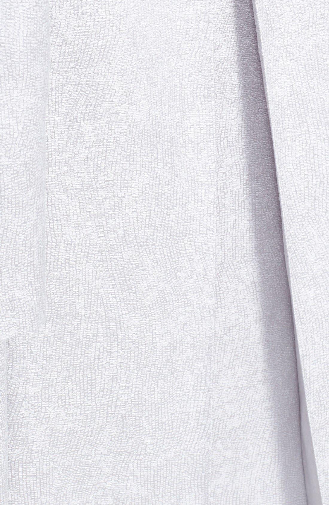 Alternate Image 3  - Eileen Fisher Jacquard Coat (Plus Size)