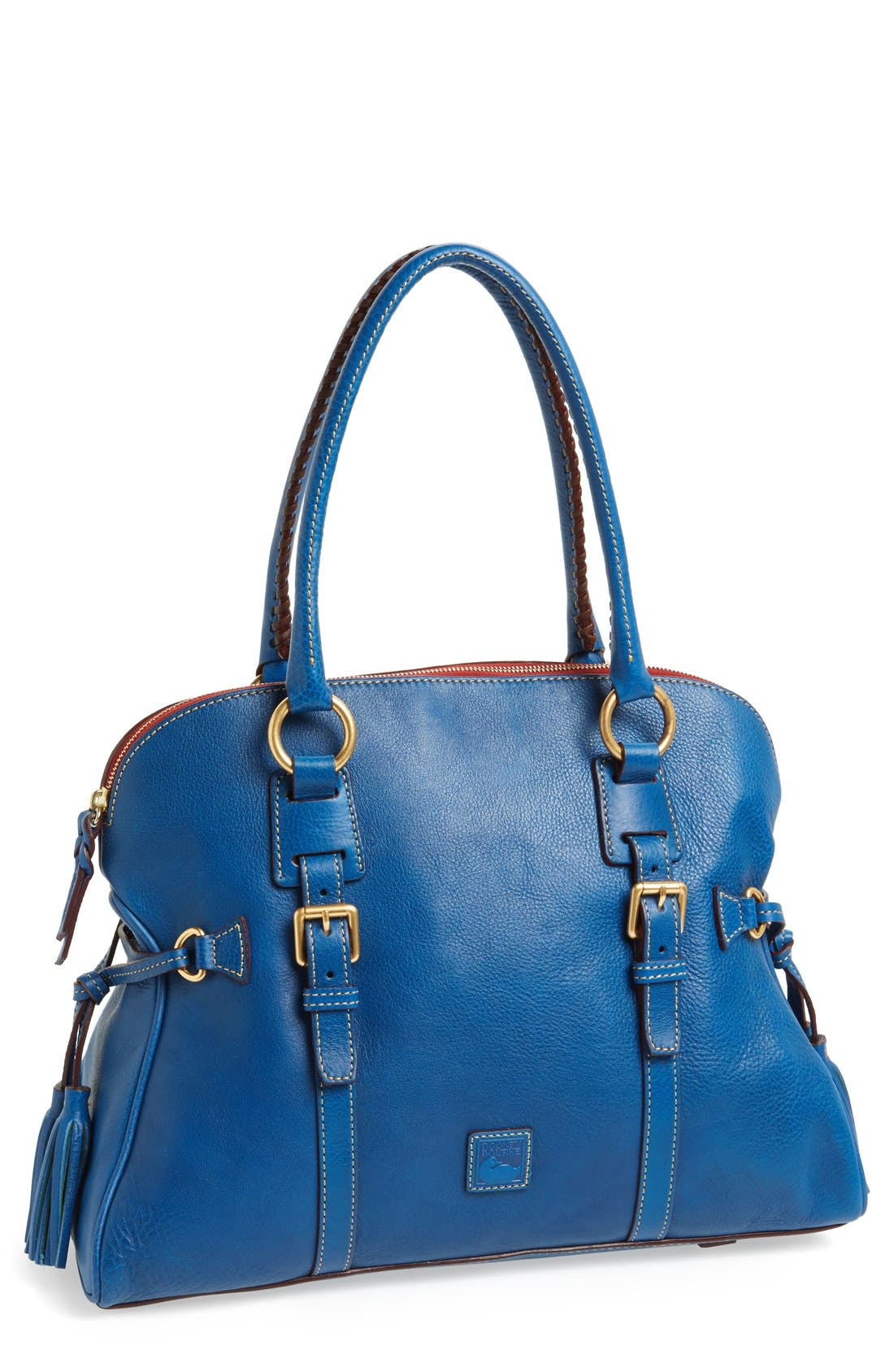 Main Image - Dooney & Bourke 'Florentine Collection' Domed Leather Buckle Satchel