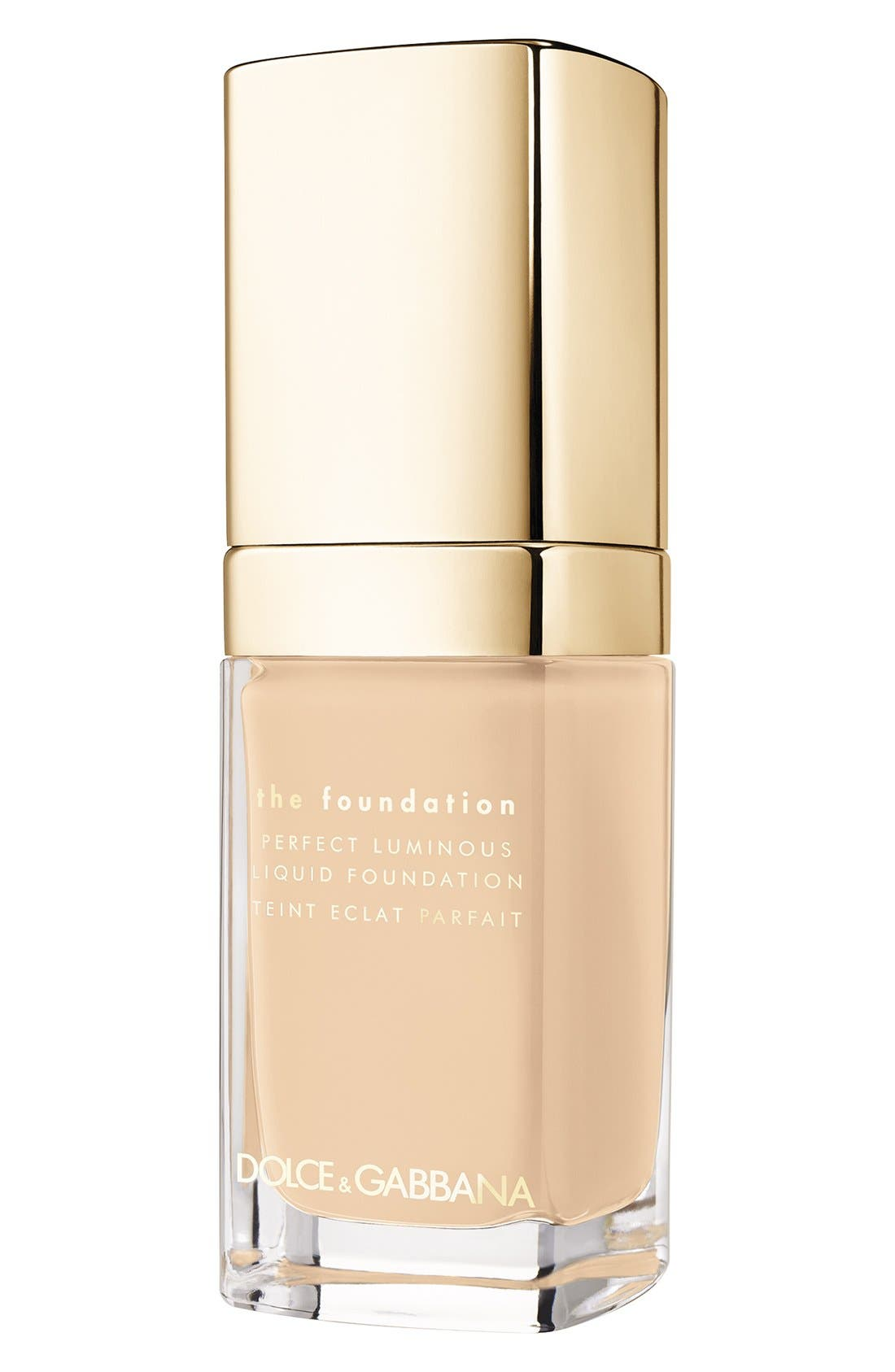 Dolce&Gabbana Beauty Perfect Luminous Liquid Foundation