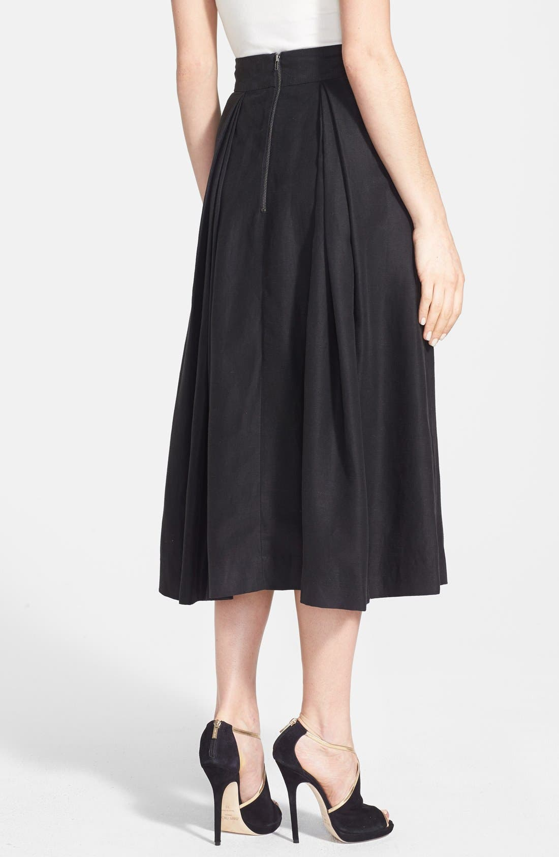 Alternate Image 2  - Milly 'Katie' Full Midi Skirt