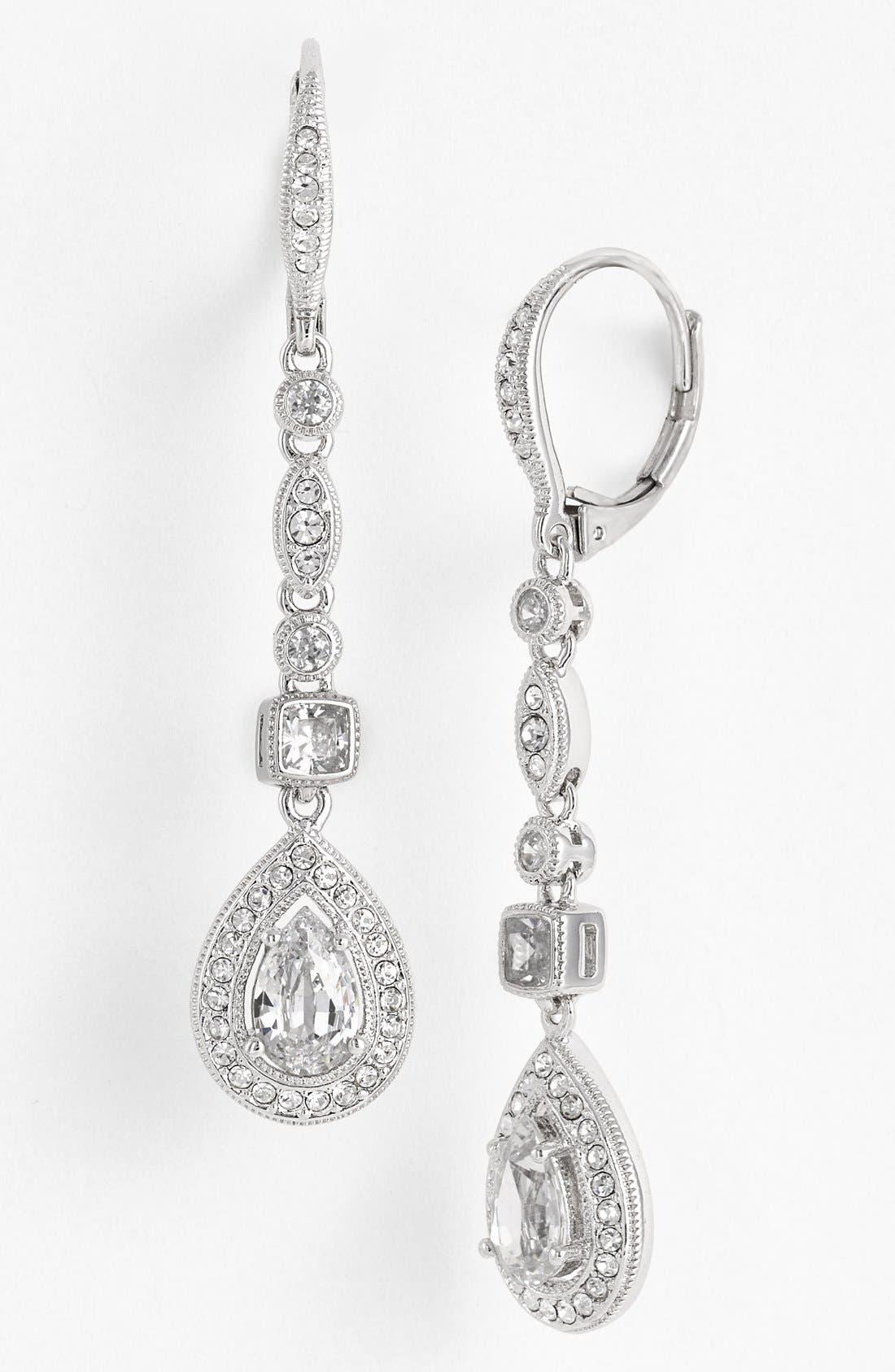 Alternate Image 1 Selected - Nadri Linear Earrings