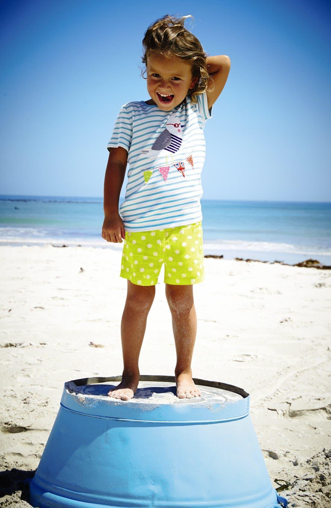 Alternate Image 2  - Mini Boden 'Seaside' Appliqué Tee (Little Girls & Big Girls)