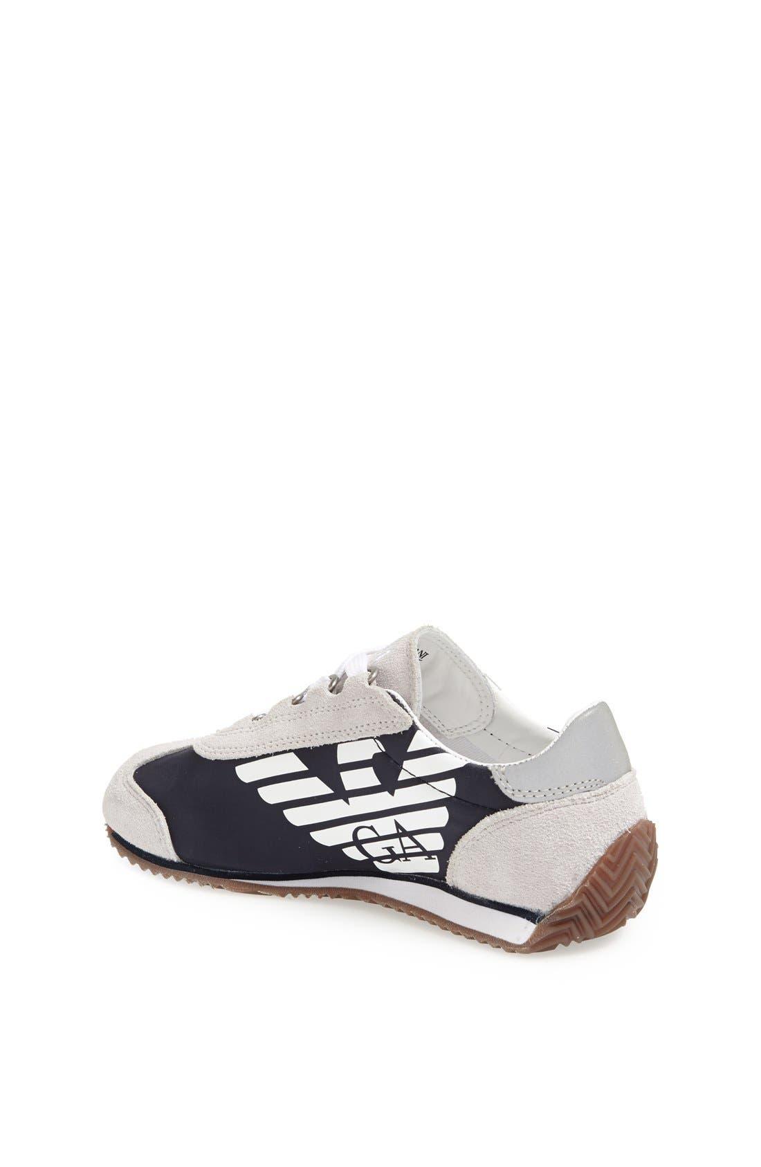 Alternate Image 2  - Armani Junior Sneaker (Toddler, Little Kid & Big Kid)