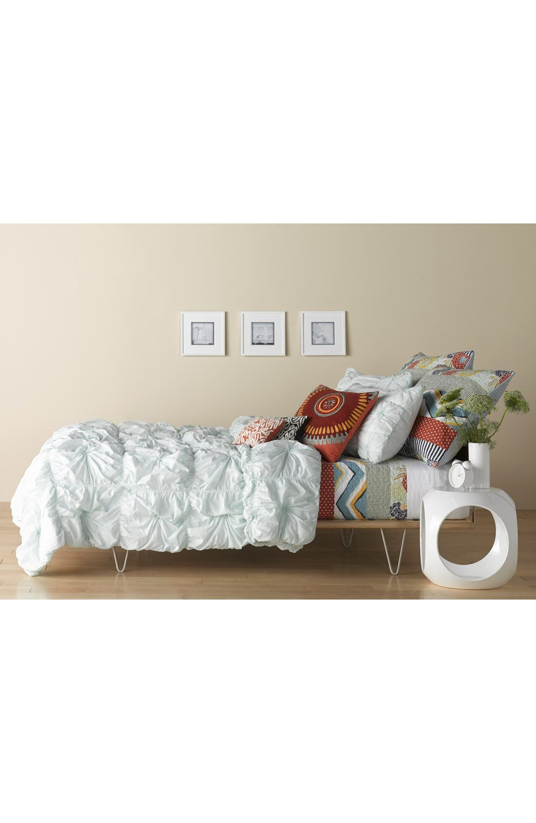 Alternate Image 2  - Rizzy Home Ruched Knots Comforter (Nordstrom Exclusive)