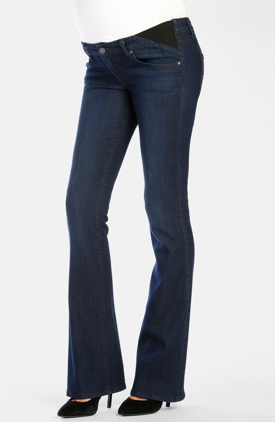 Alternate Image 1 Selected - Paige Denim 'Skyline' Bootcut Maternity Jeans (Alexis)