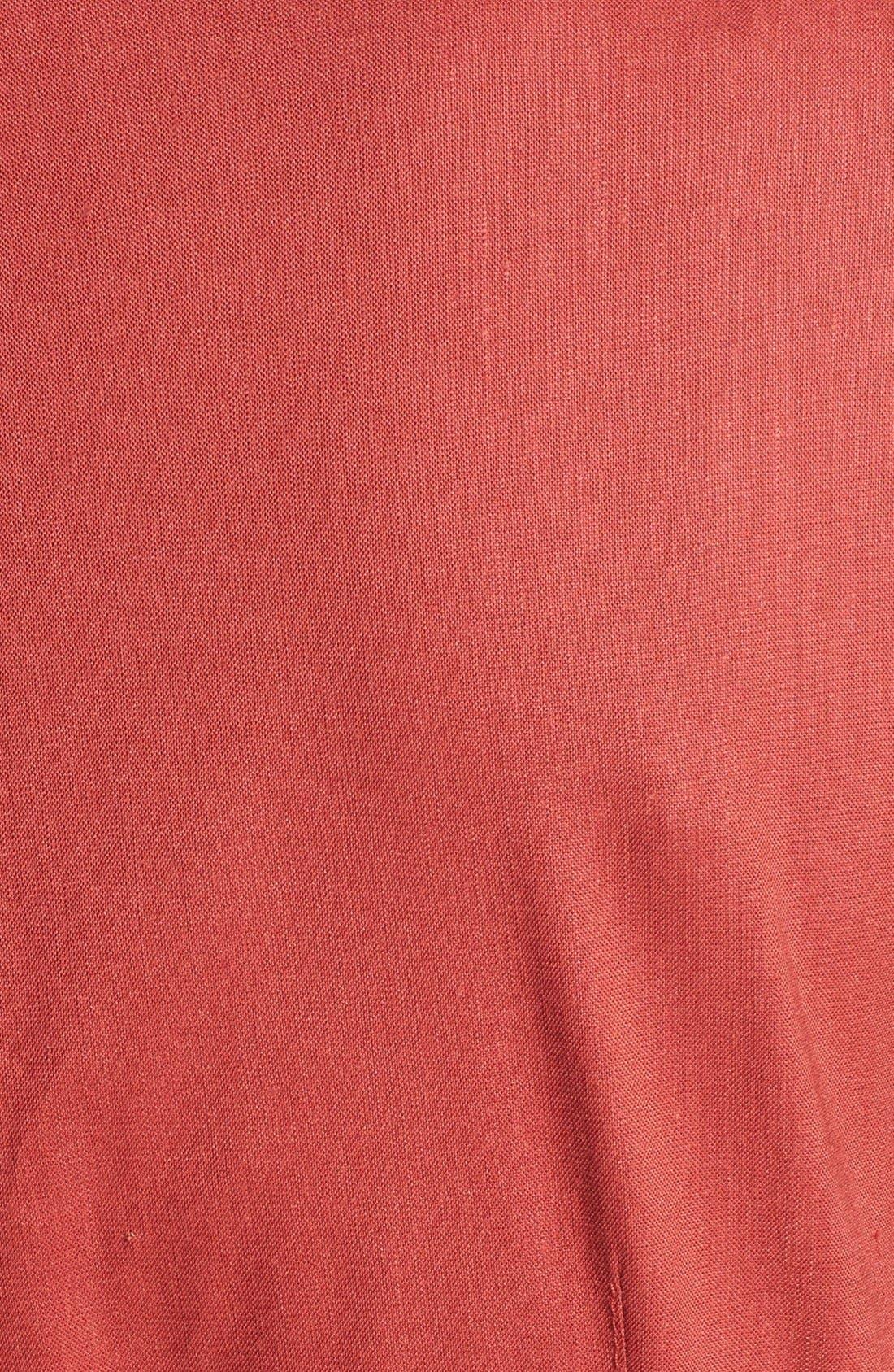 Alternate Image 3  - Lafayette 148 New York Short Sleeve Zip Front Shirtdress
