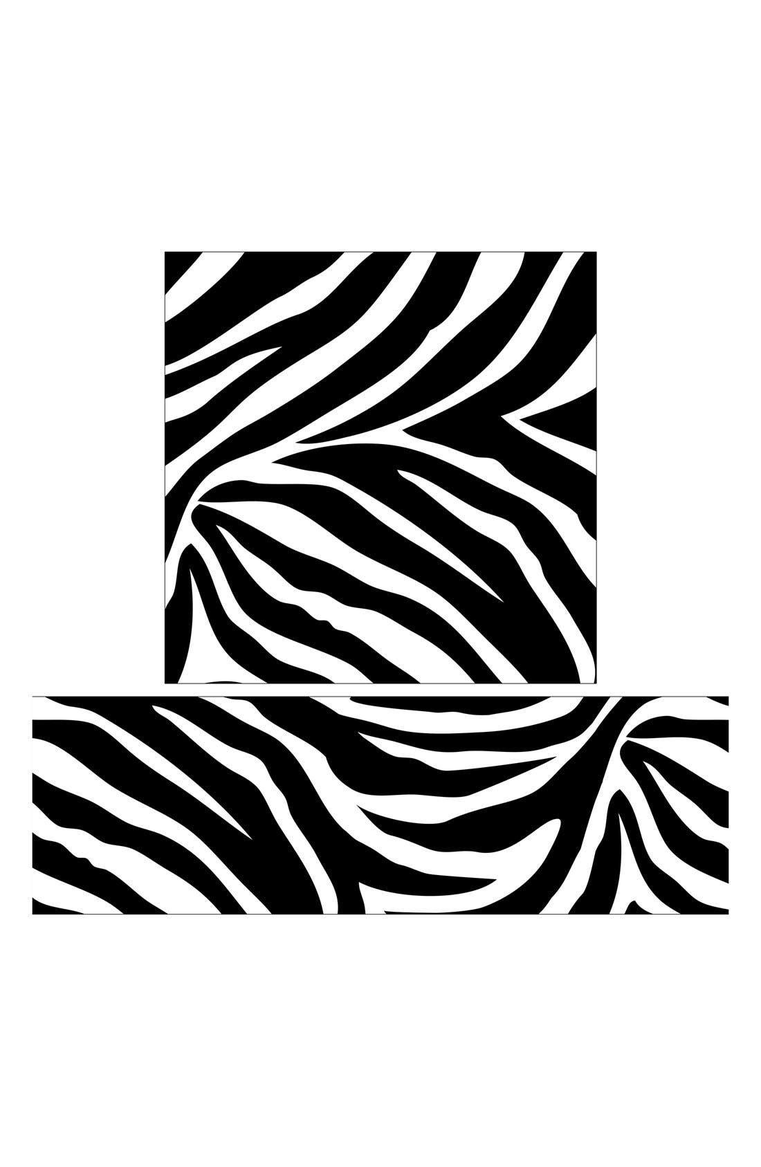 Alternate Image 2  - Wallpops 'Go Wild Zebra Blox & Stripes' Wall Art