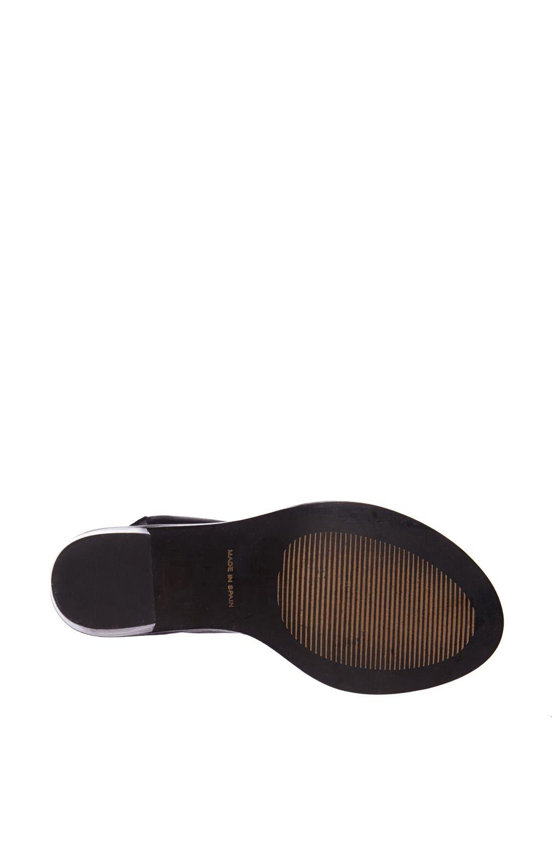 Alternate Image 4  - Topshop 'Nostalgic' Lace-Up Sandal