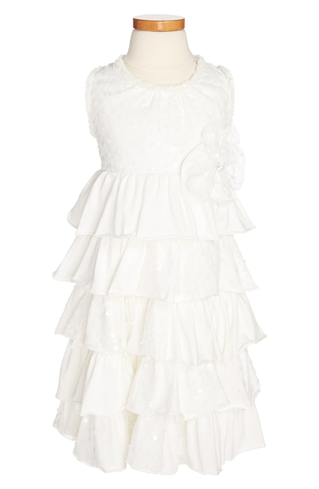 Alternate Image 1 Selected - Isobella & Chloe 'Enchanted' Dress (Little Girls & Big Girls)