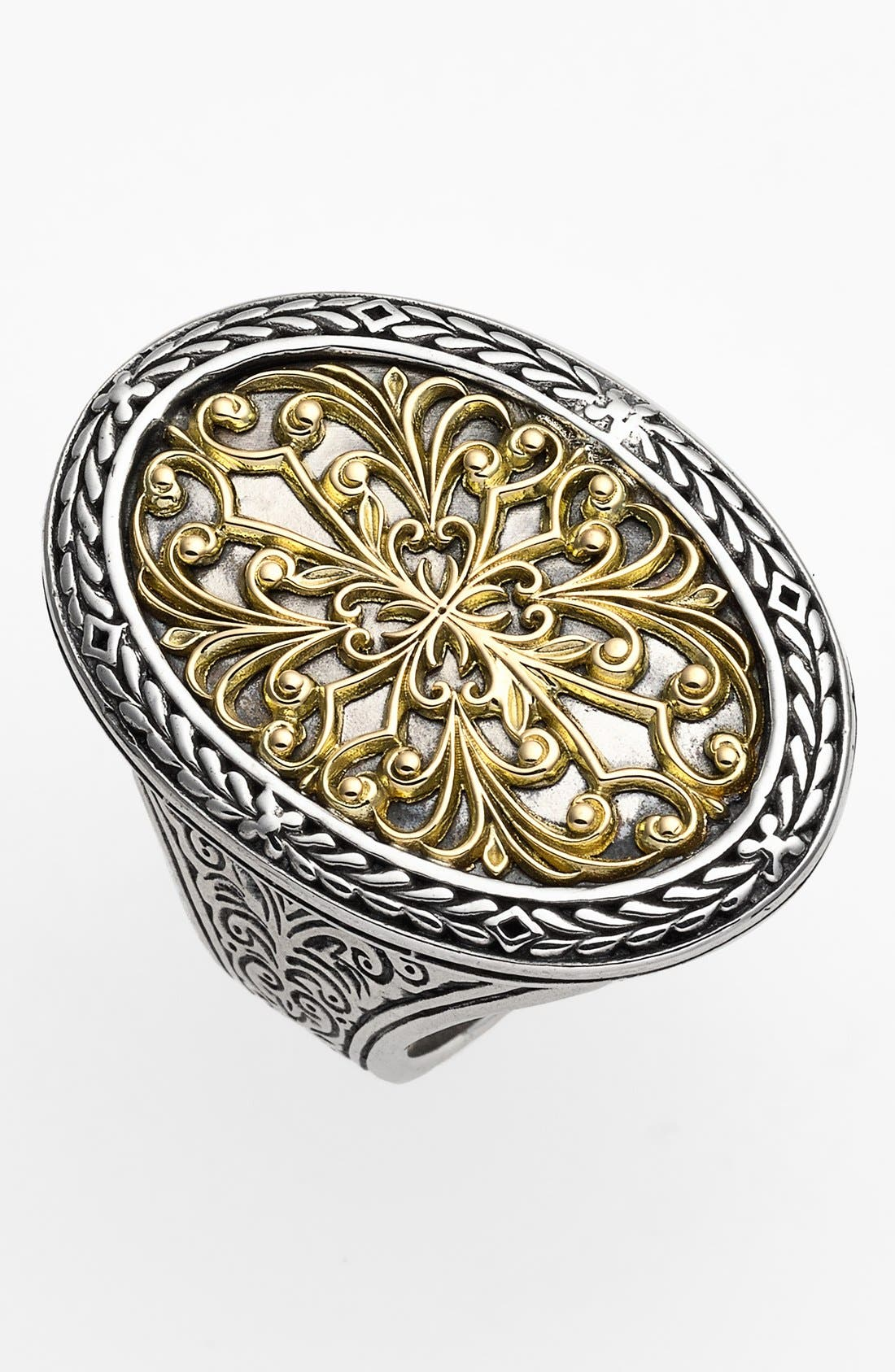 Konstantino Oval Two-Tone Ring