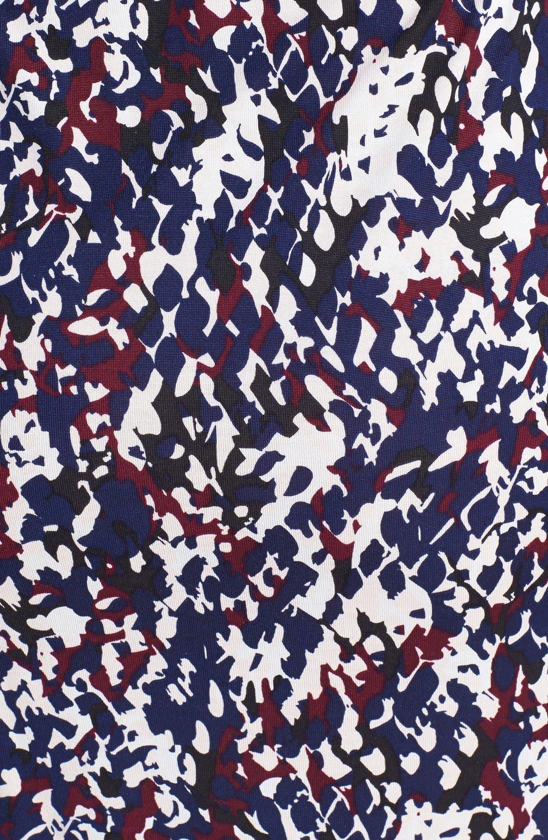 Alternate Image 3  - Diane von Furstenberg 'New Jeanne Two' Print Silk Wrap Dress