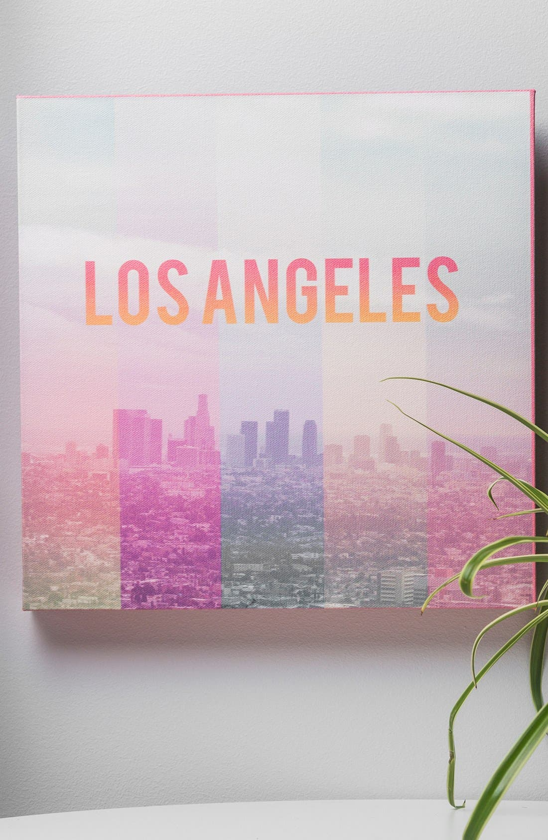Alternate Image 2  - DENY Designs 'Catherine McDonald - Los Angeles' Canvas Wall Art