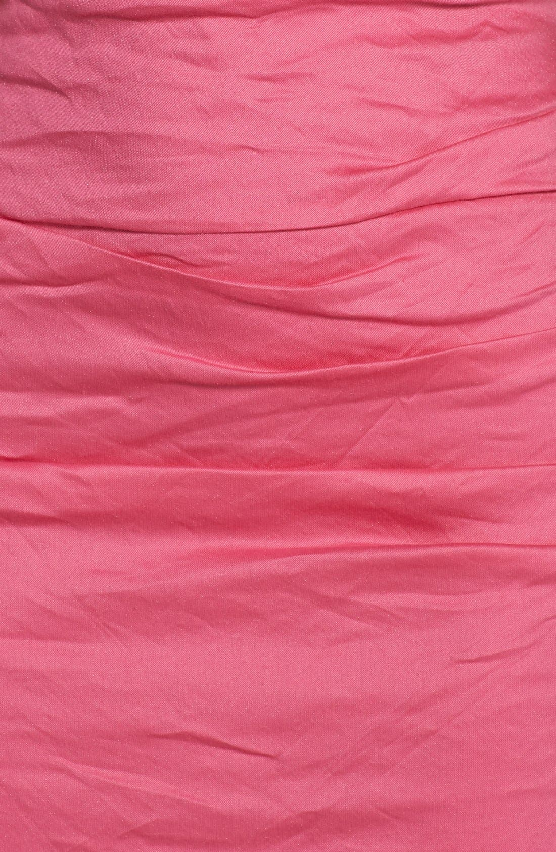 Alternate Image 4  - Nicole Miller Stretch Cotton Sheath Dress