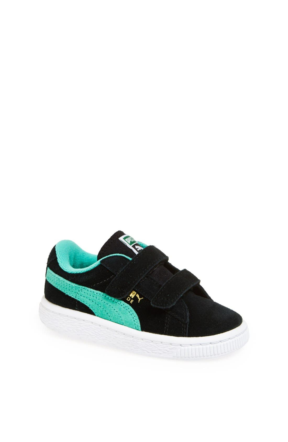Alternate Image 1 Selected - PUMA Suede Sneaker (Baby, Walker, Toddler & Little Kid)