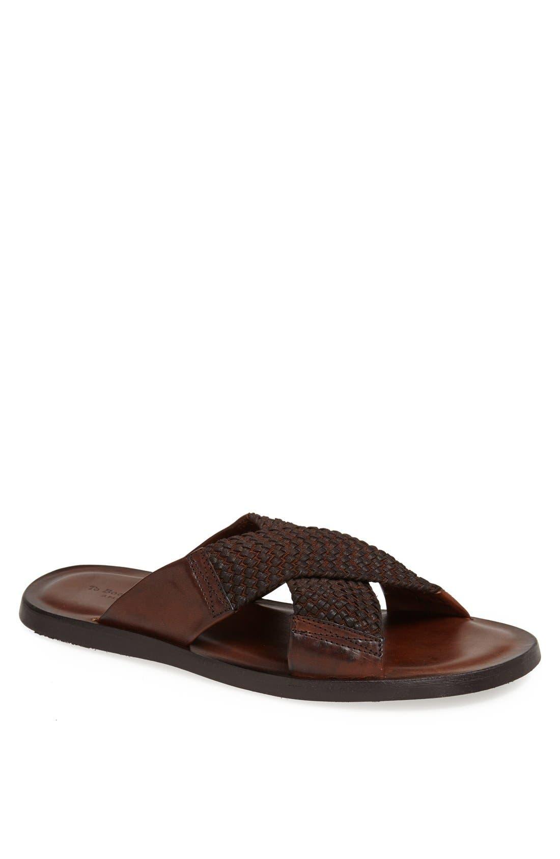 Alternate Image 1 Selected - To Boot New York 'Ibiza' Leather Slide Sandal