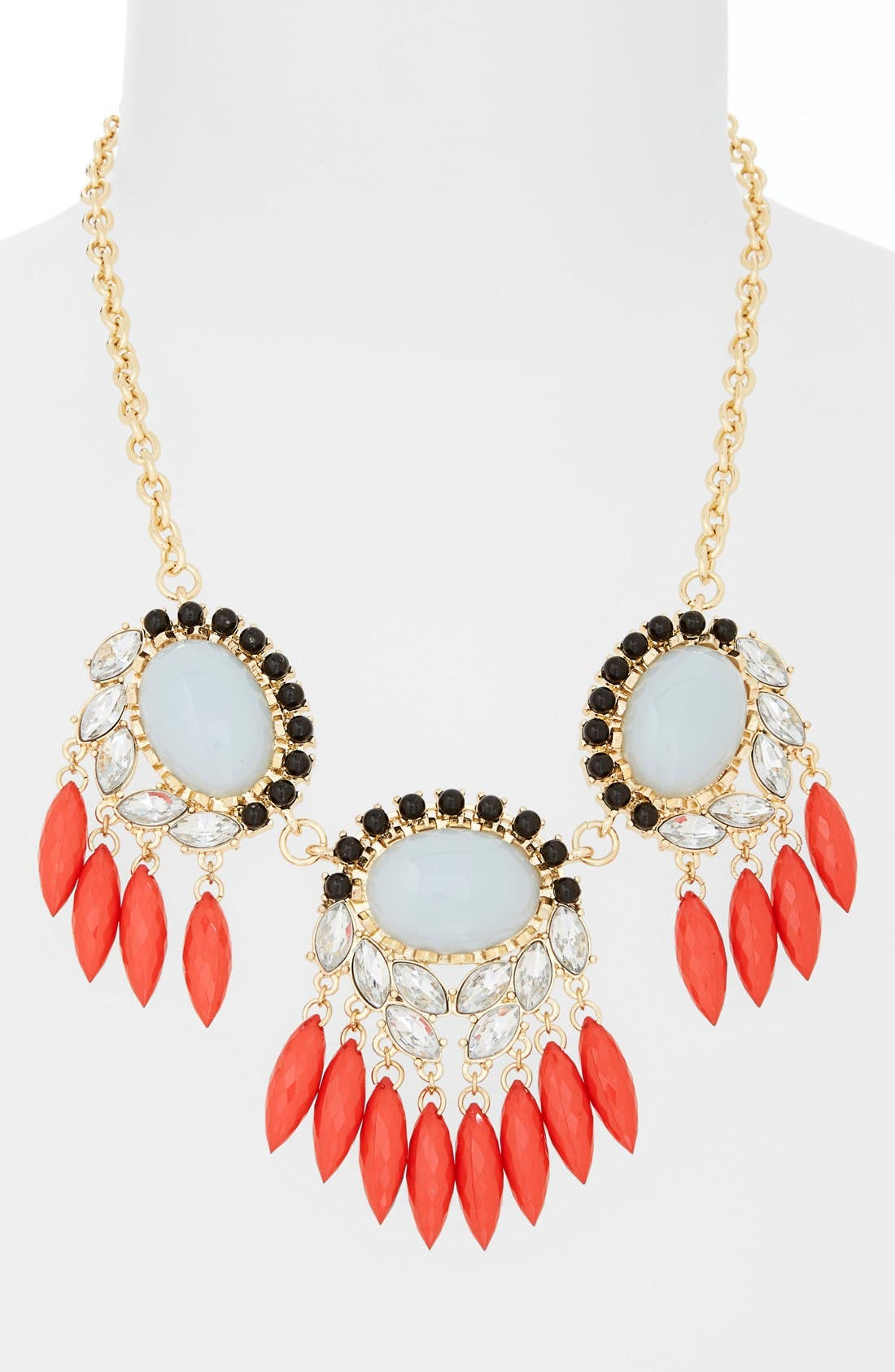 Alternate Image 2  - Missing Piece Crystal Statement Necklace