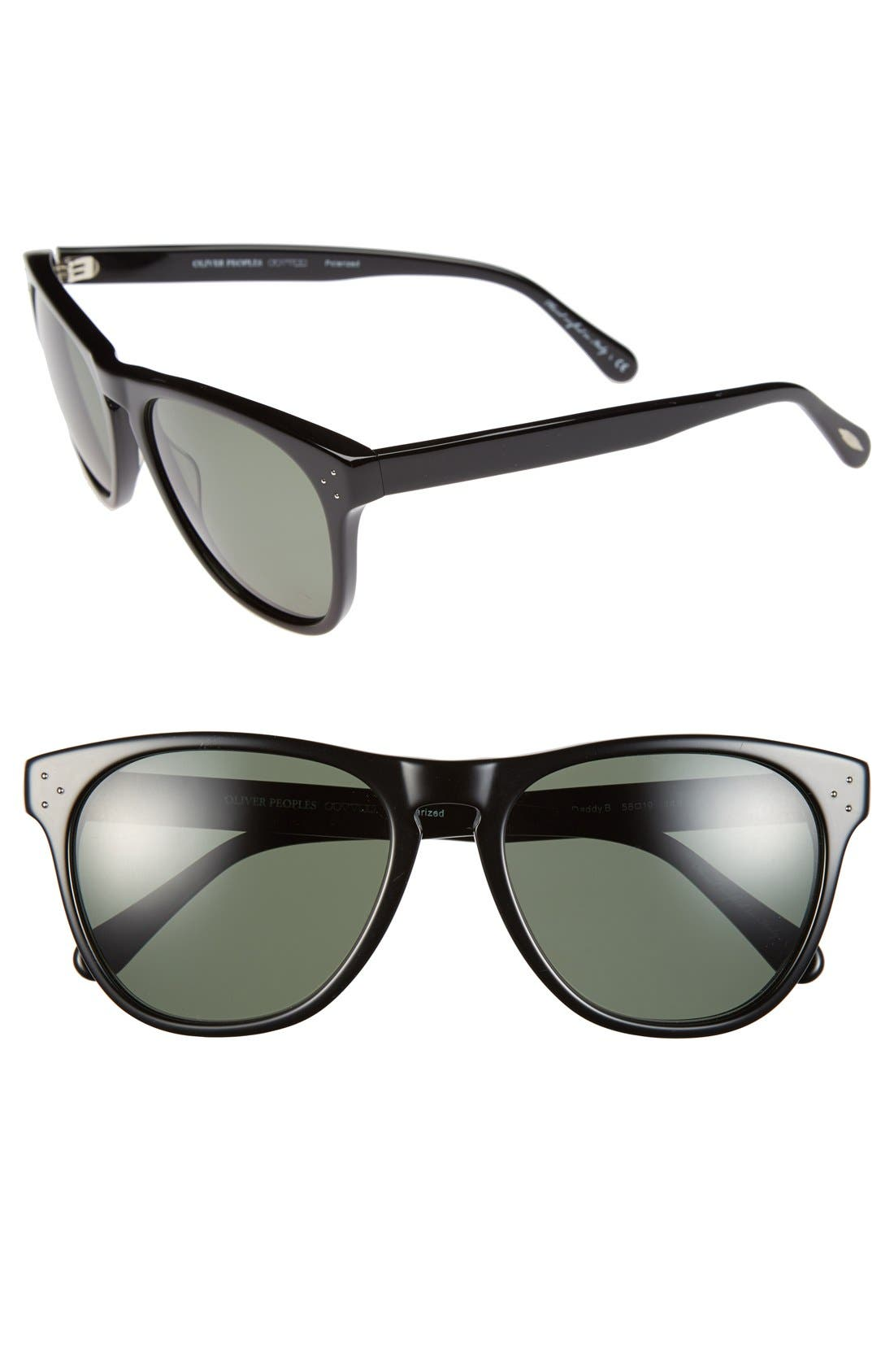 Alternate Image 1 Selected - Oliver Peoples 'Daddy B' 58mm Polarized Sunglasses
