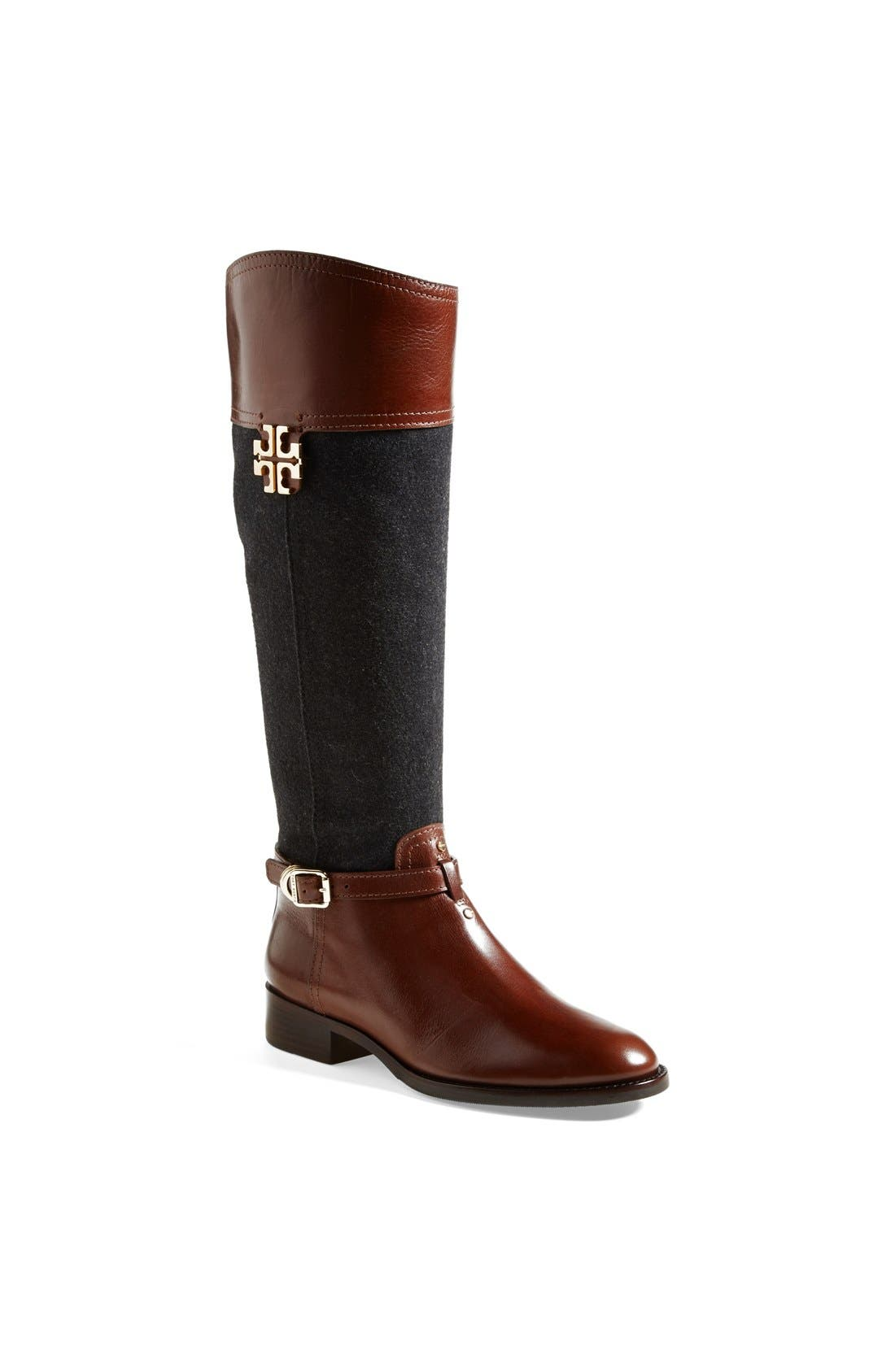 Main Image - Tory Burch 'Eloise' Riding Boot (Nordstrom Online Exclusive)(Women)