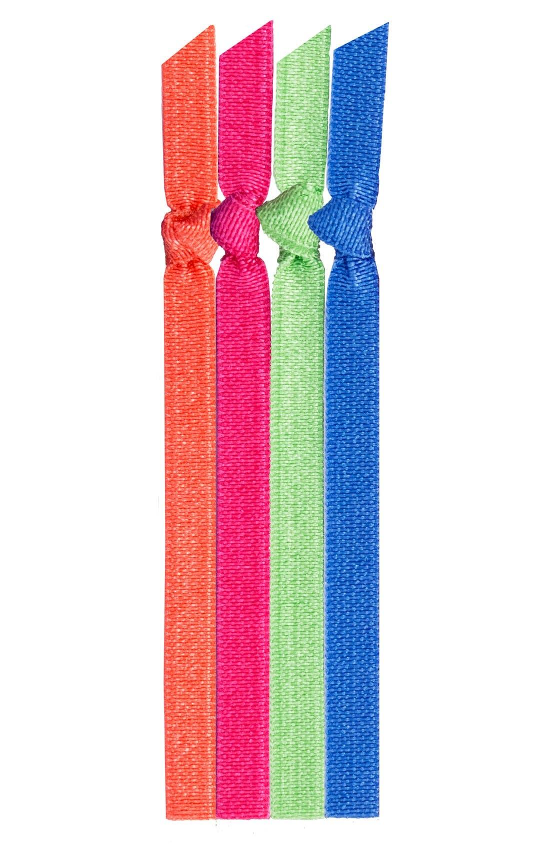 Main Image - Emi-Jay 'Sweet Tart' Skinny Hair Ties (4-Pack) (Buy 2, Get 1)