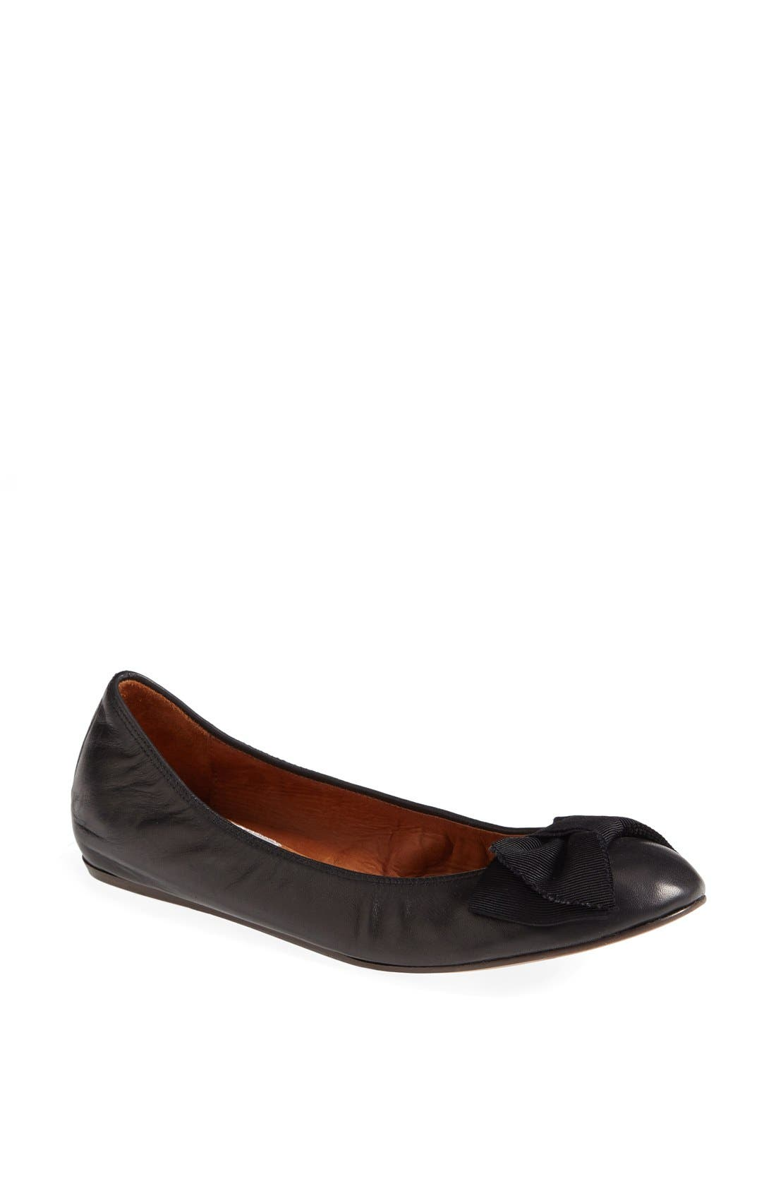 Alternate Image 1 Selected - Lanvin Bow Ballerina Flat (Women)