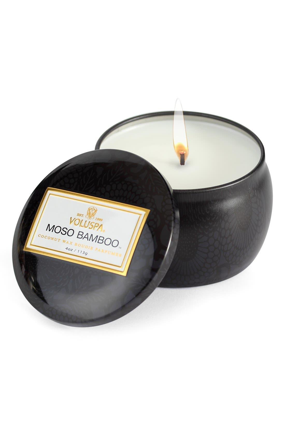 Main Image - Voluspa 'Japonica - Moso Bamboo' Petite Decorative Candle