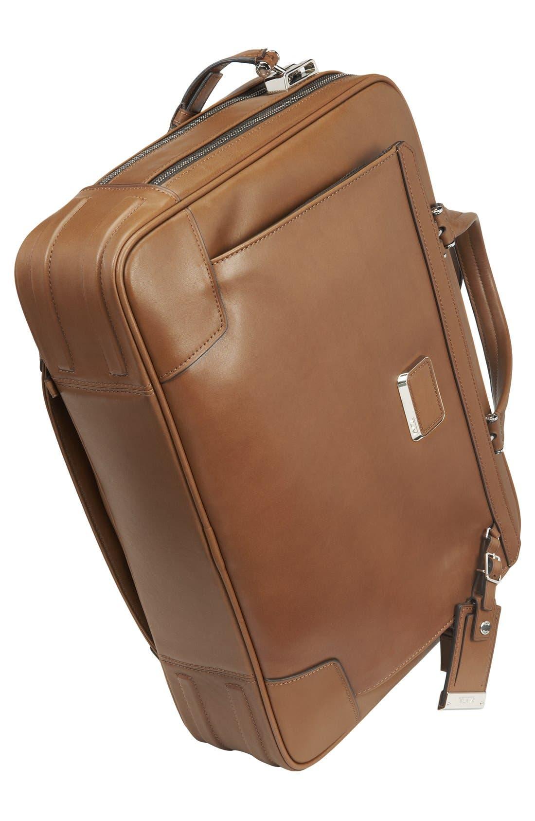 Alternate Image 4  - Tumi 'Astor Ansonia' Zip Top Vachetta Leather Laptop Briefcase (17 Inch)
