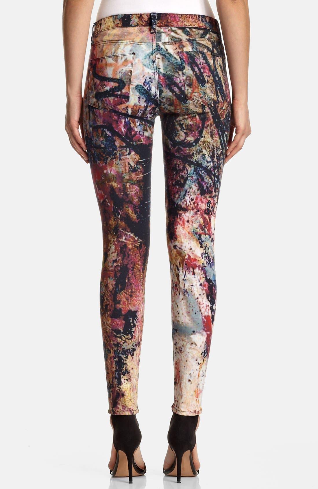 Alternate Image 2  - Hudson Jeans 'Nico' Skinny Stretch Jeans (Last Call)
