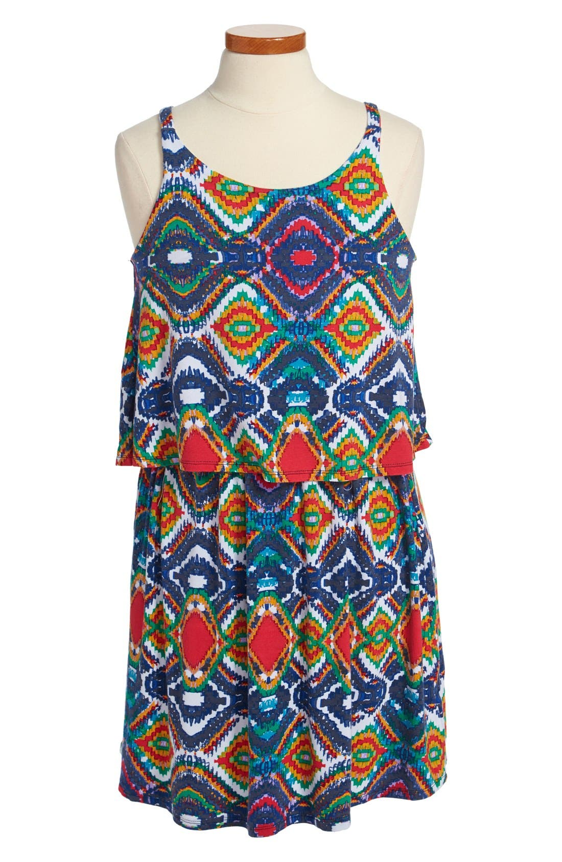 Main Image - Ella Moss Tank Dress (Big Girls)
