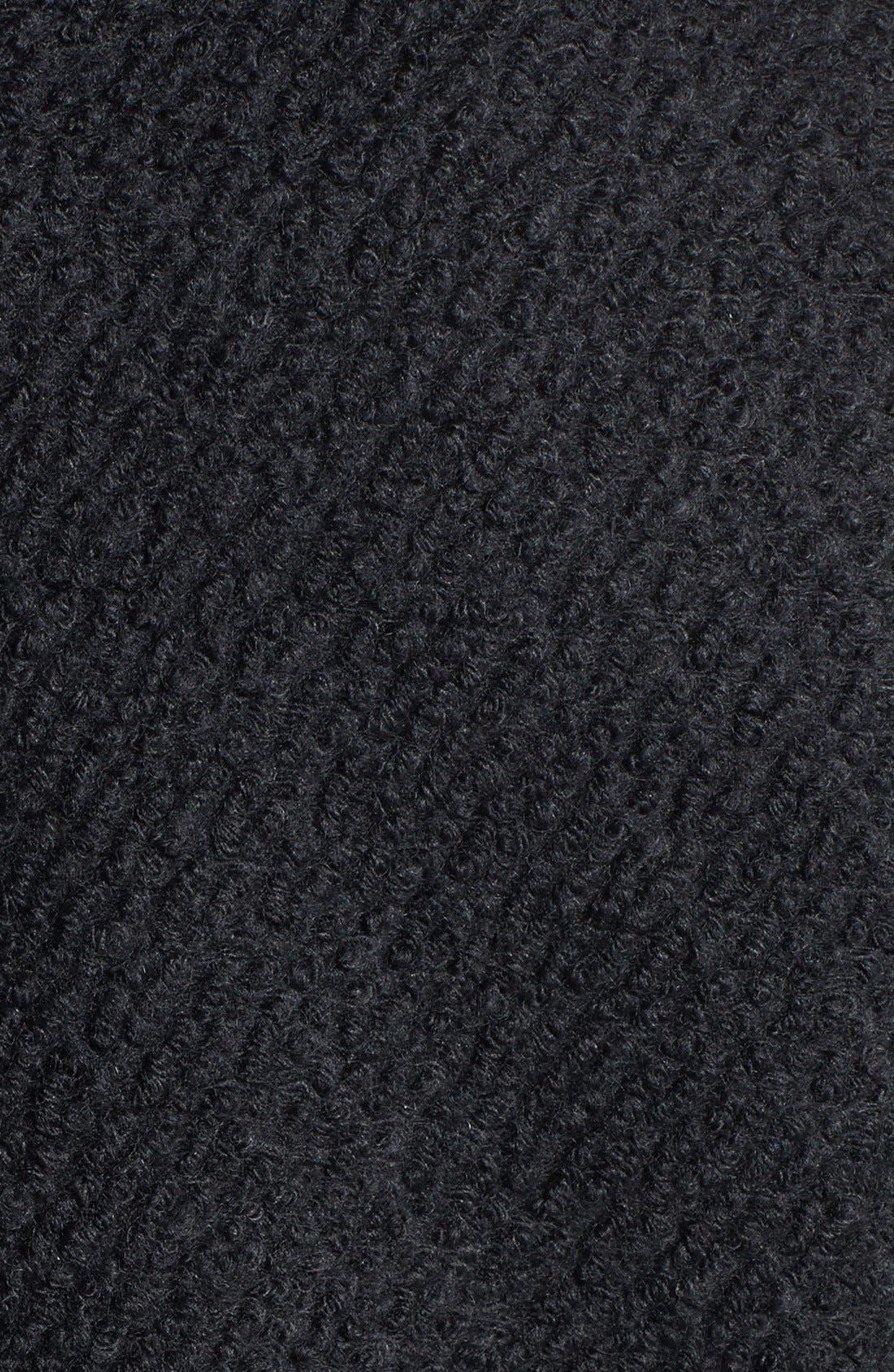 Alternate Image 3  - MICHAEL Michael Kors Zip Front Bouclé Wool Blend Coat