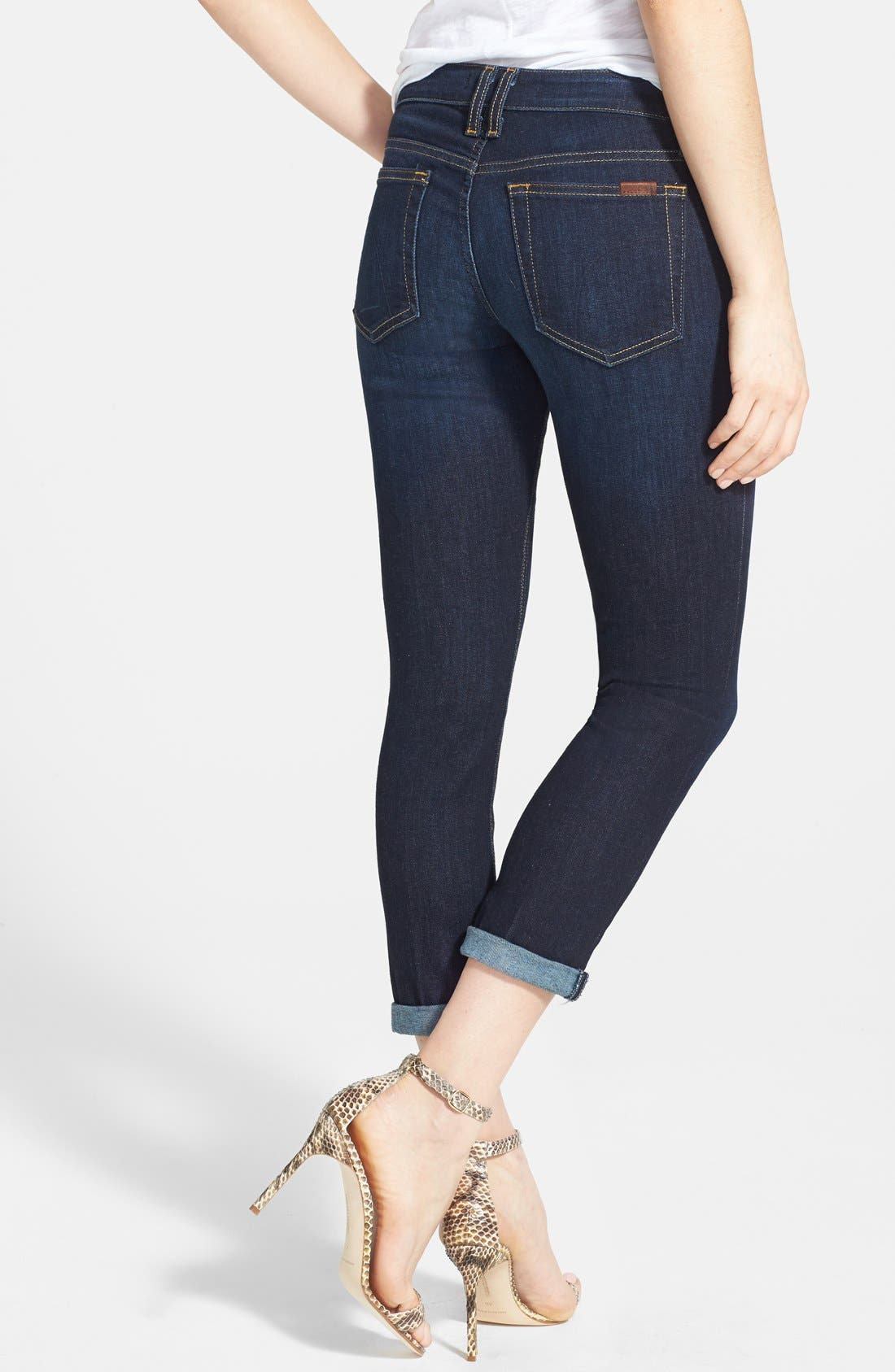 Alternate Image 2  - Joe's Crop Skinny Jeans (Rikki)