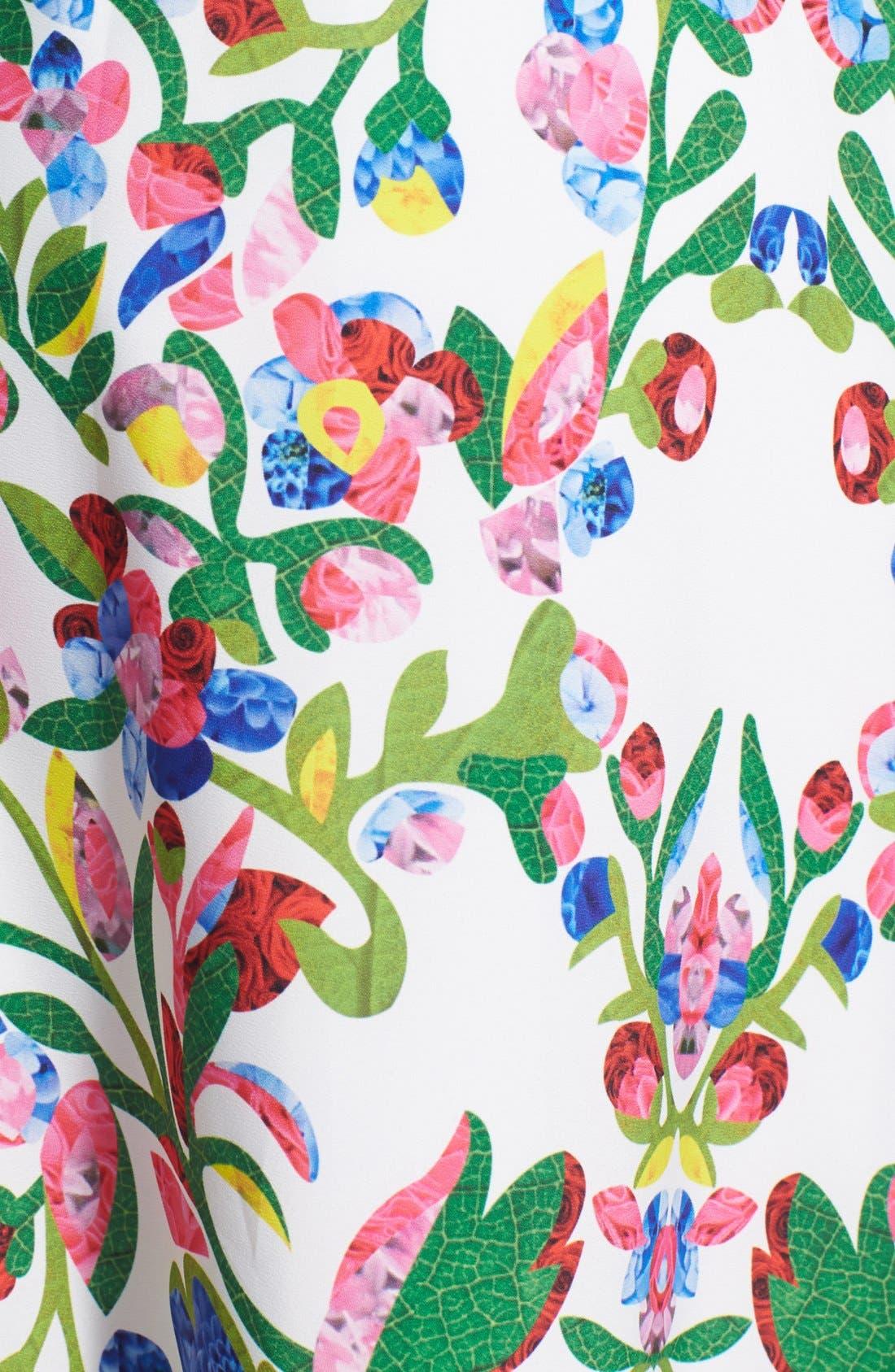 Alternate Image 3  - Cynthia Steffe Print Fit & Flare Midi Dress