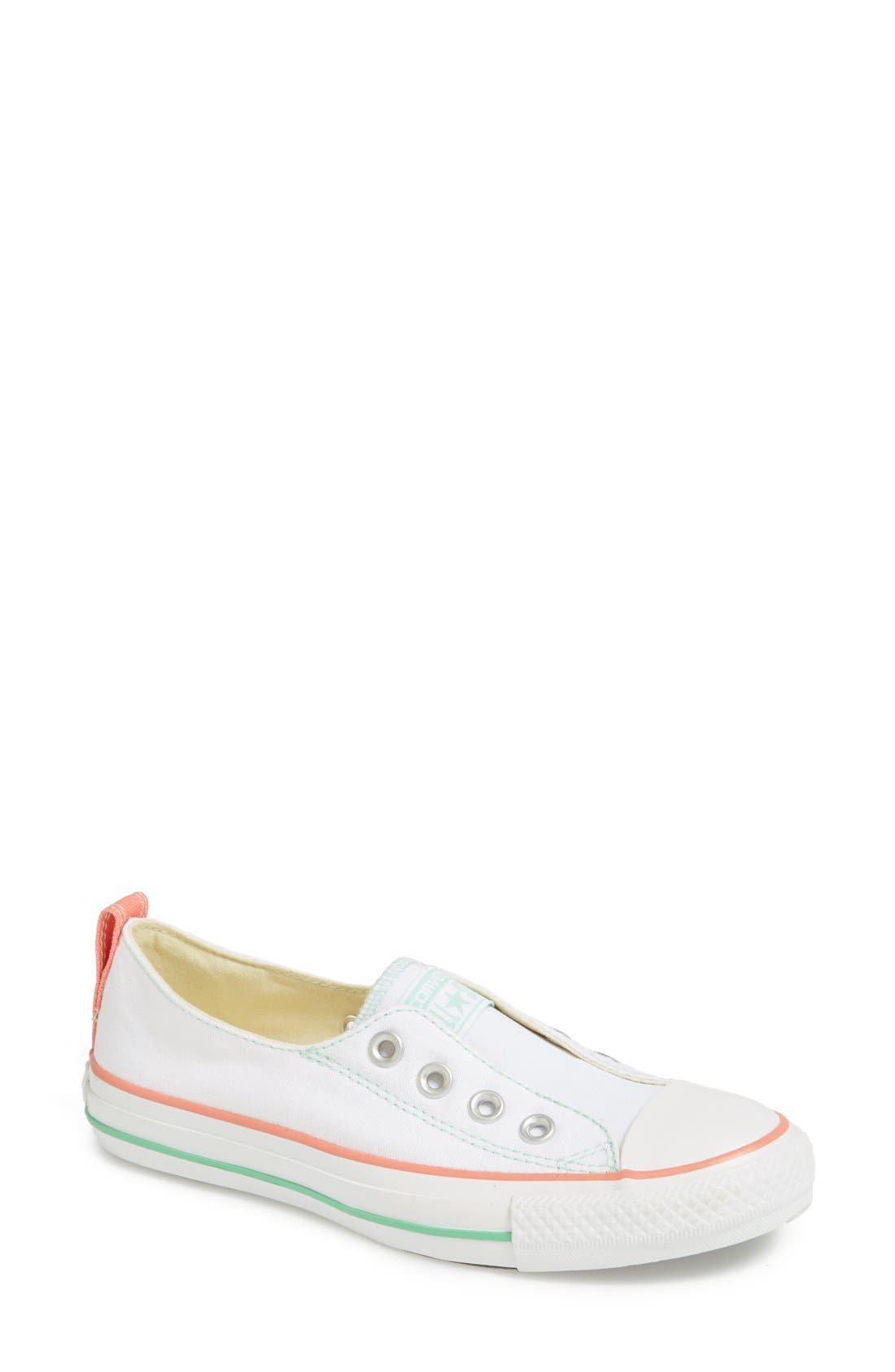 Main Image - Converse Chuck Taylor® All Star® Laceless Slip-On Sneaker (Women)