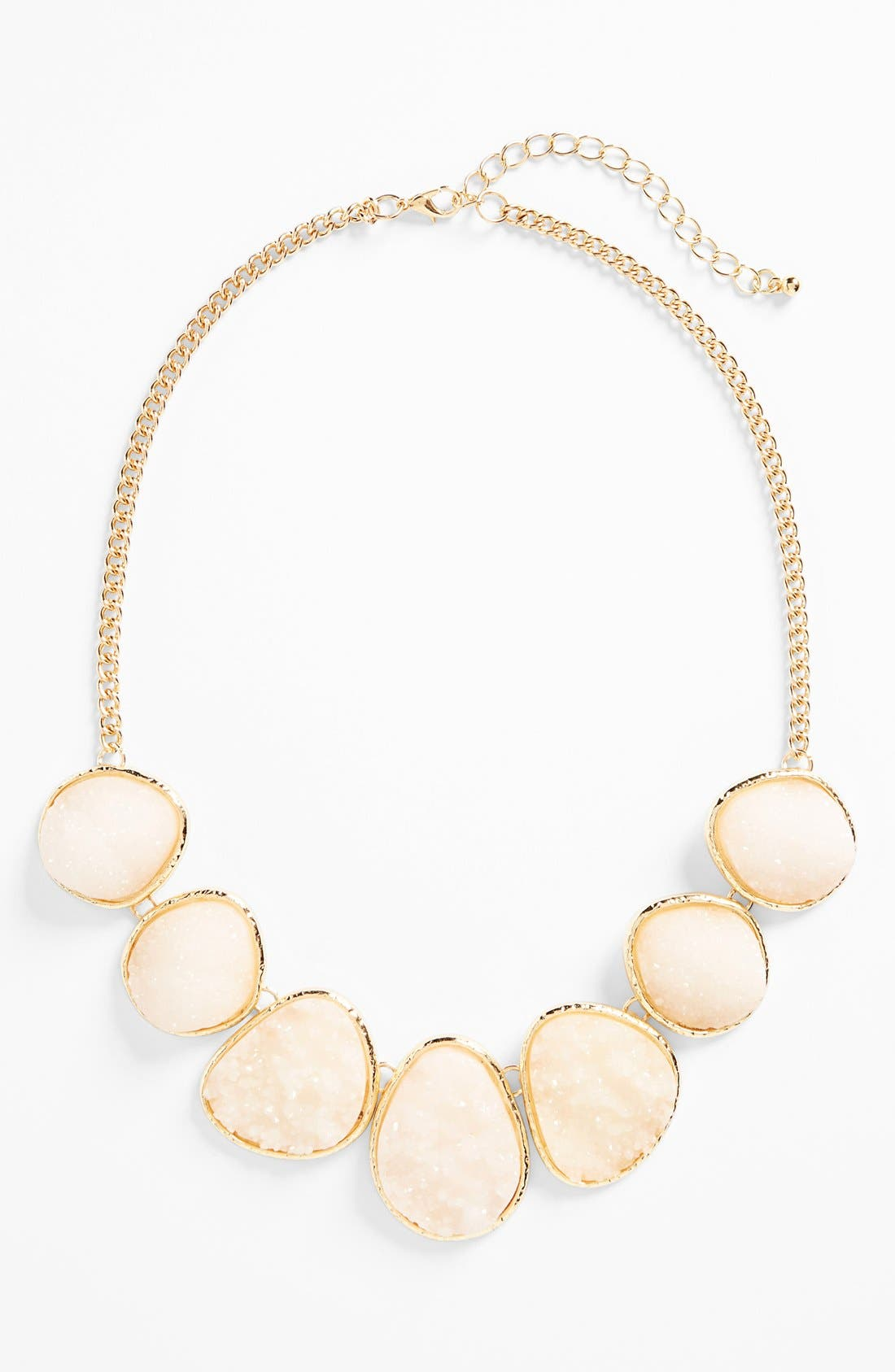 Alternate Image 1 Selected - Stephan & Co. Glitter Stone Necklace (Juniors)
