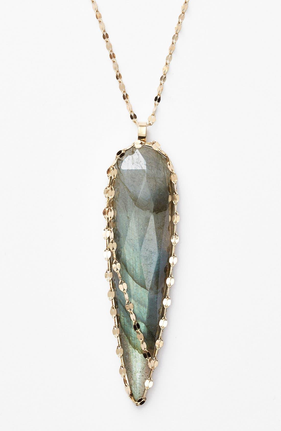 Alternate Image 1 Selected - Lana Jewelry 'Ultra' Labradorite Spike Pendant Necklace