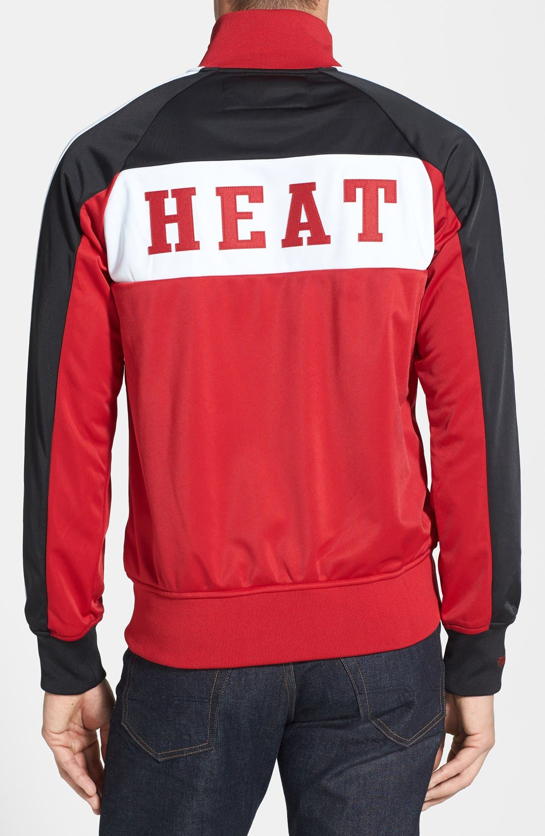 Alternate Image 2  - Mitchell & Ness 'Miami Heat - Home Stand' Tailored Fit Track Jacket