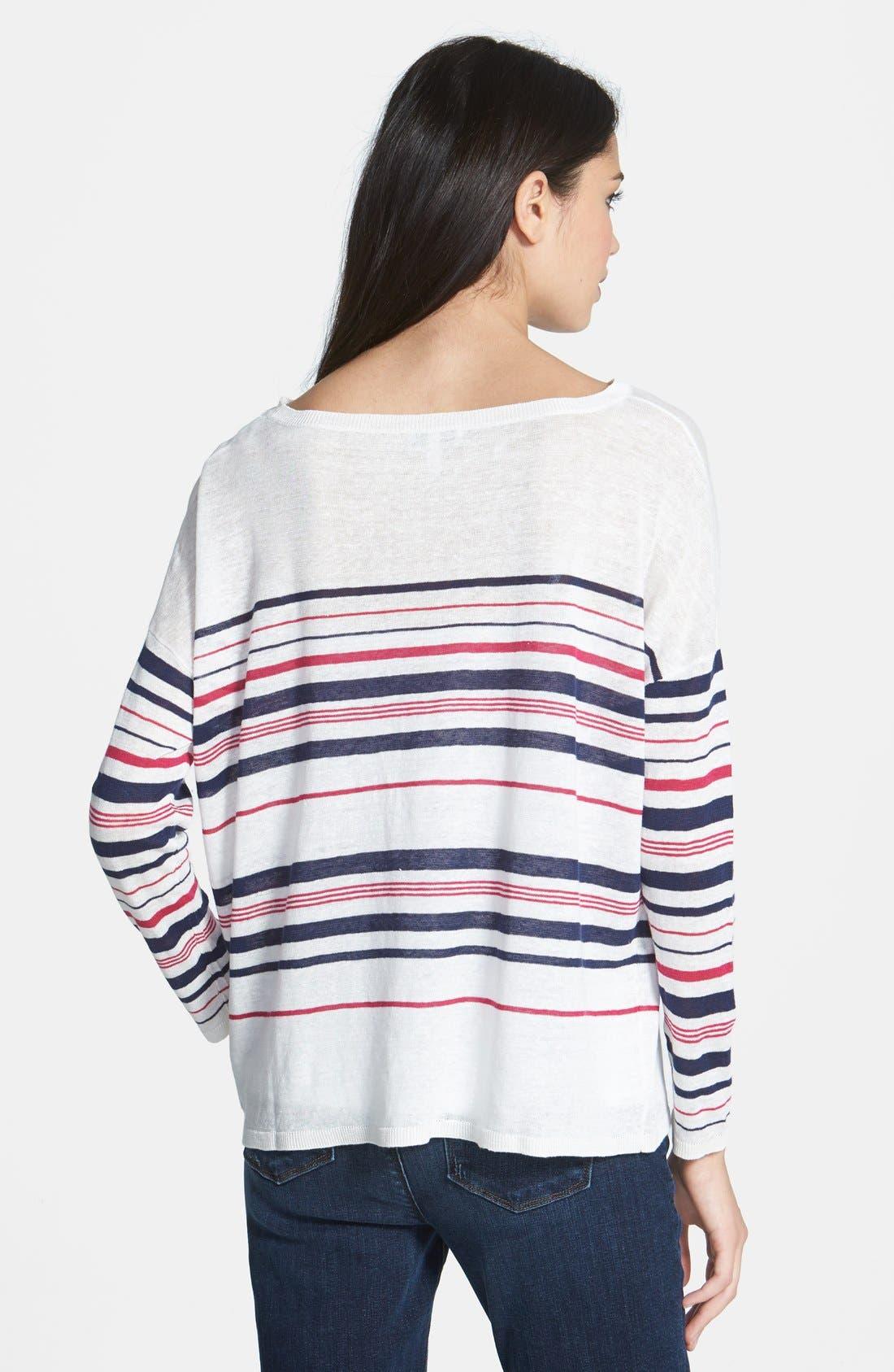 Alternate Image 2  - Joie 'Maine' Linen Sweater