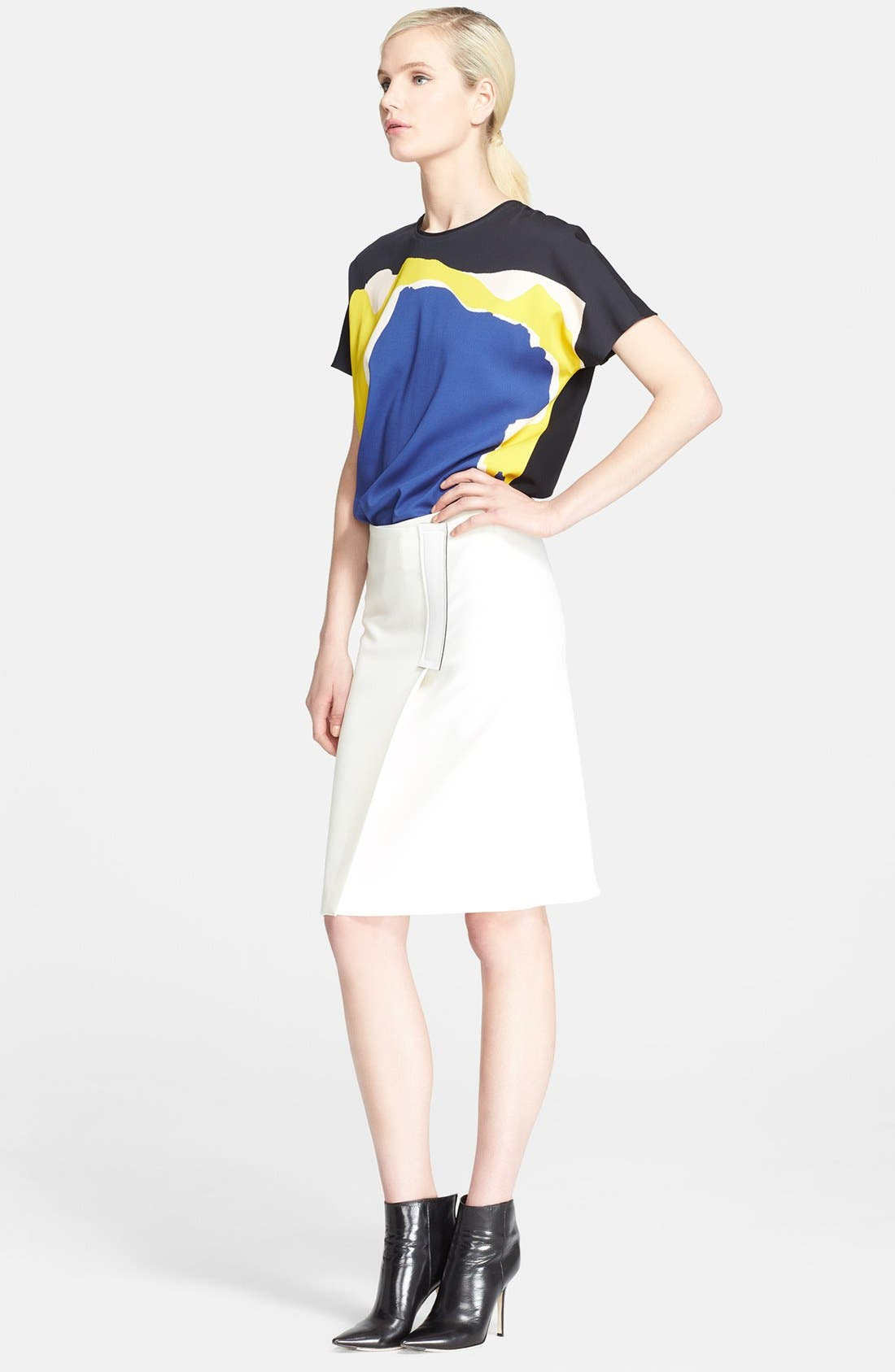 Alternate Image 3  - Cédric Charlier Crepe Wrap Skirt
