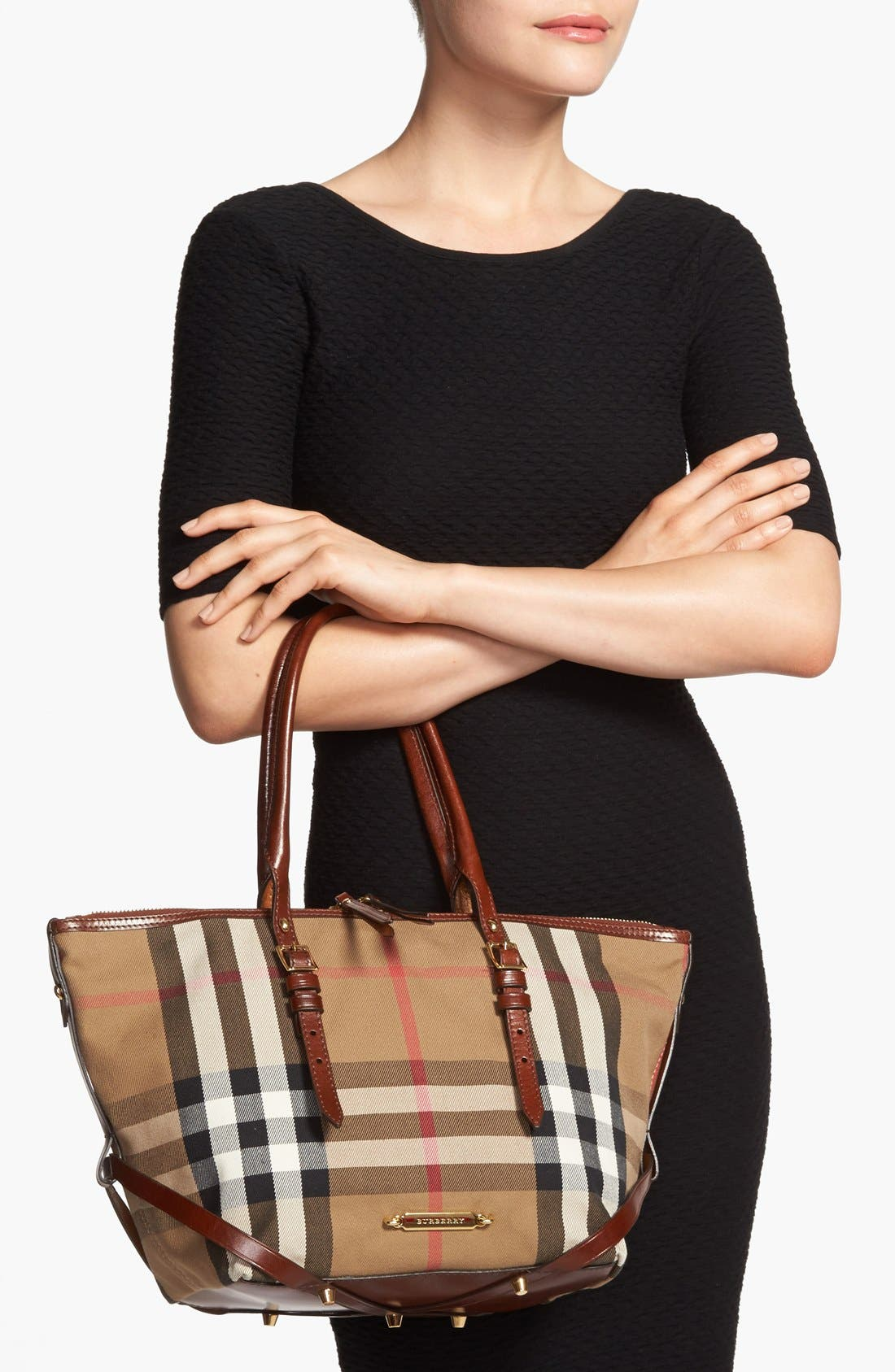 Alternate Image 2  - Burberry 'House Check – Small' Tote