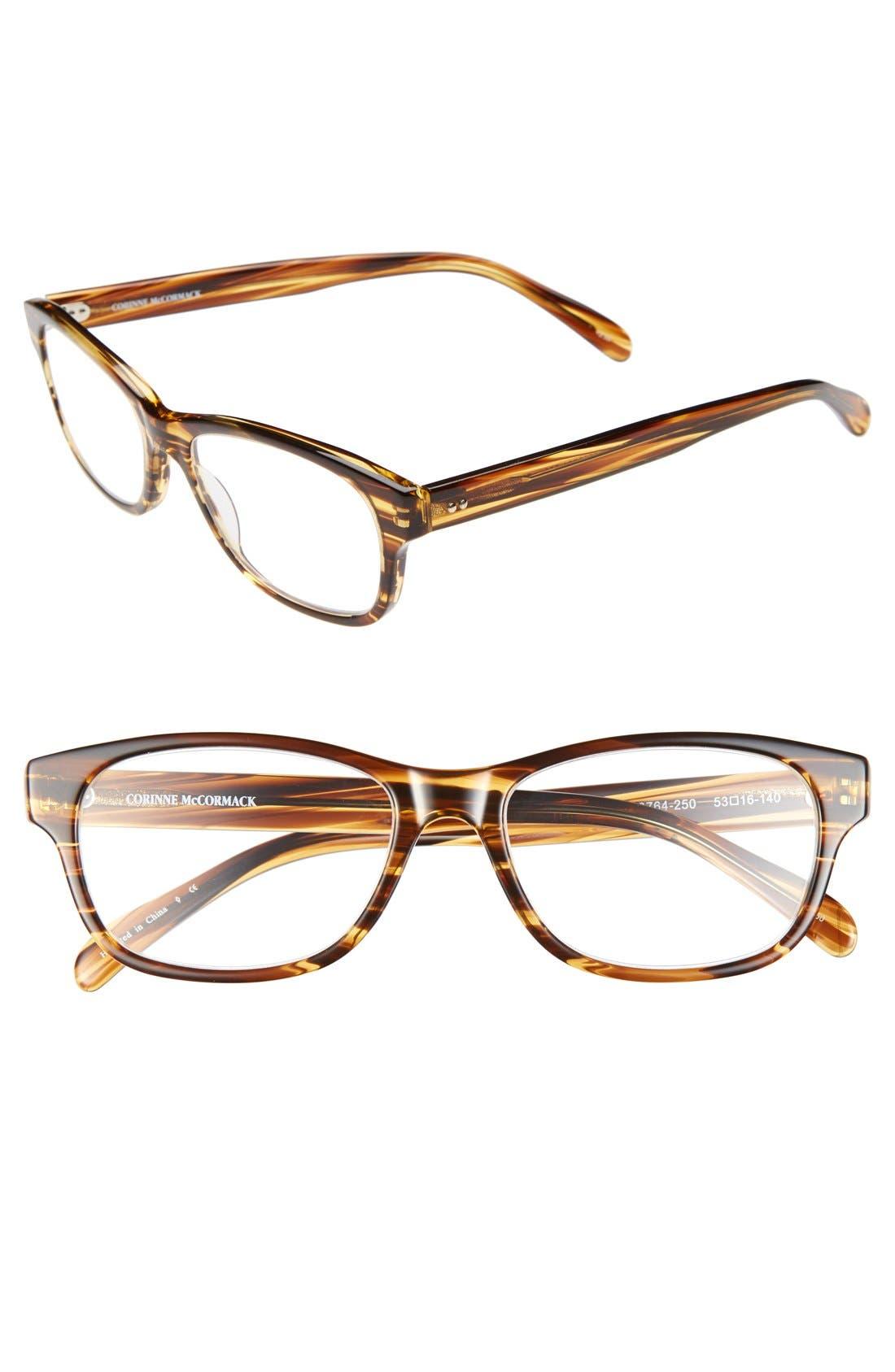 Main Image - Corinne McCormack 'Zooey' 53mm Reading Glasses