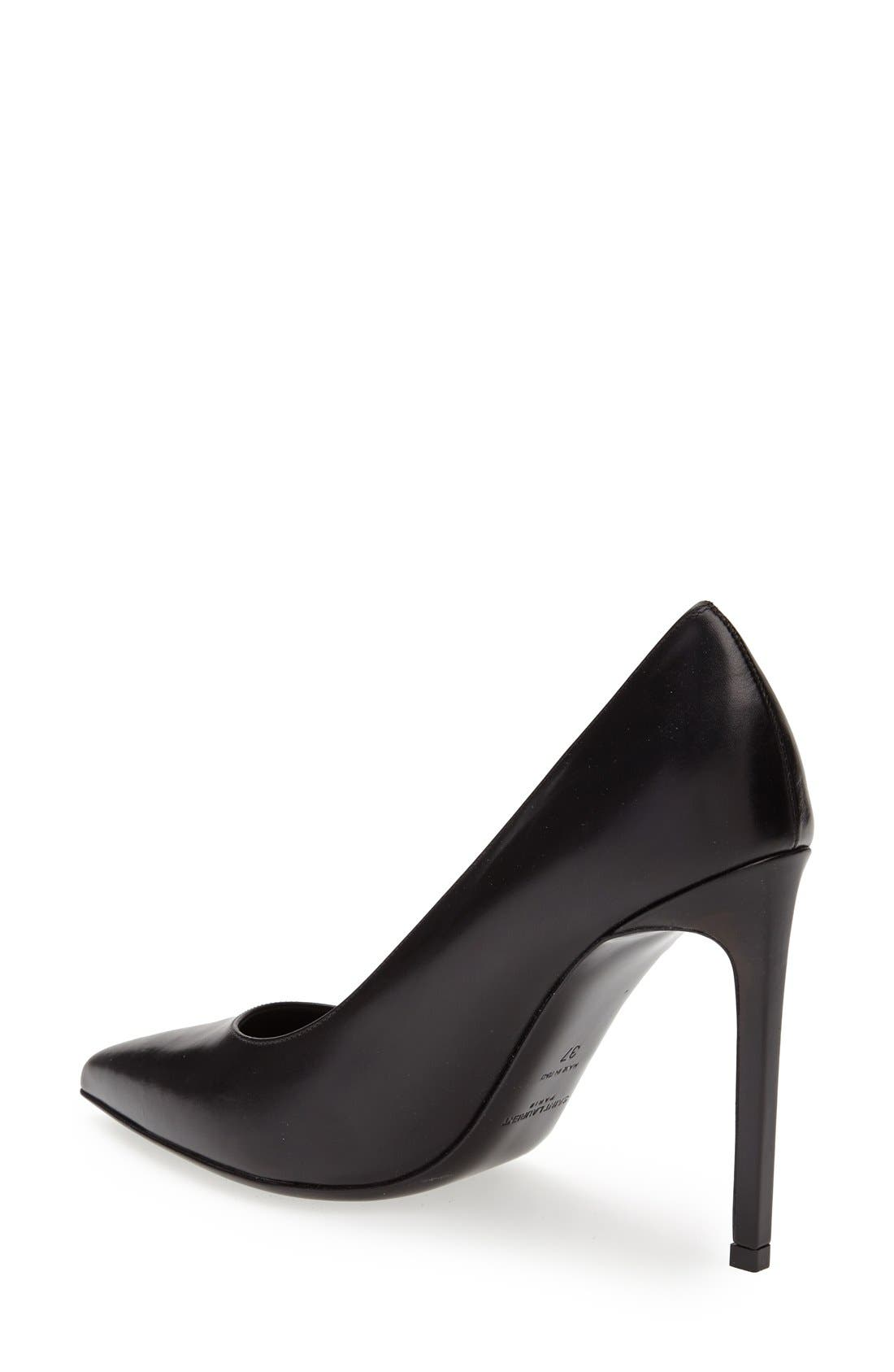 Alternate Image 2  - Saint Laurent 'Paris' Pointy Toe Pump