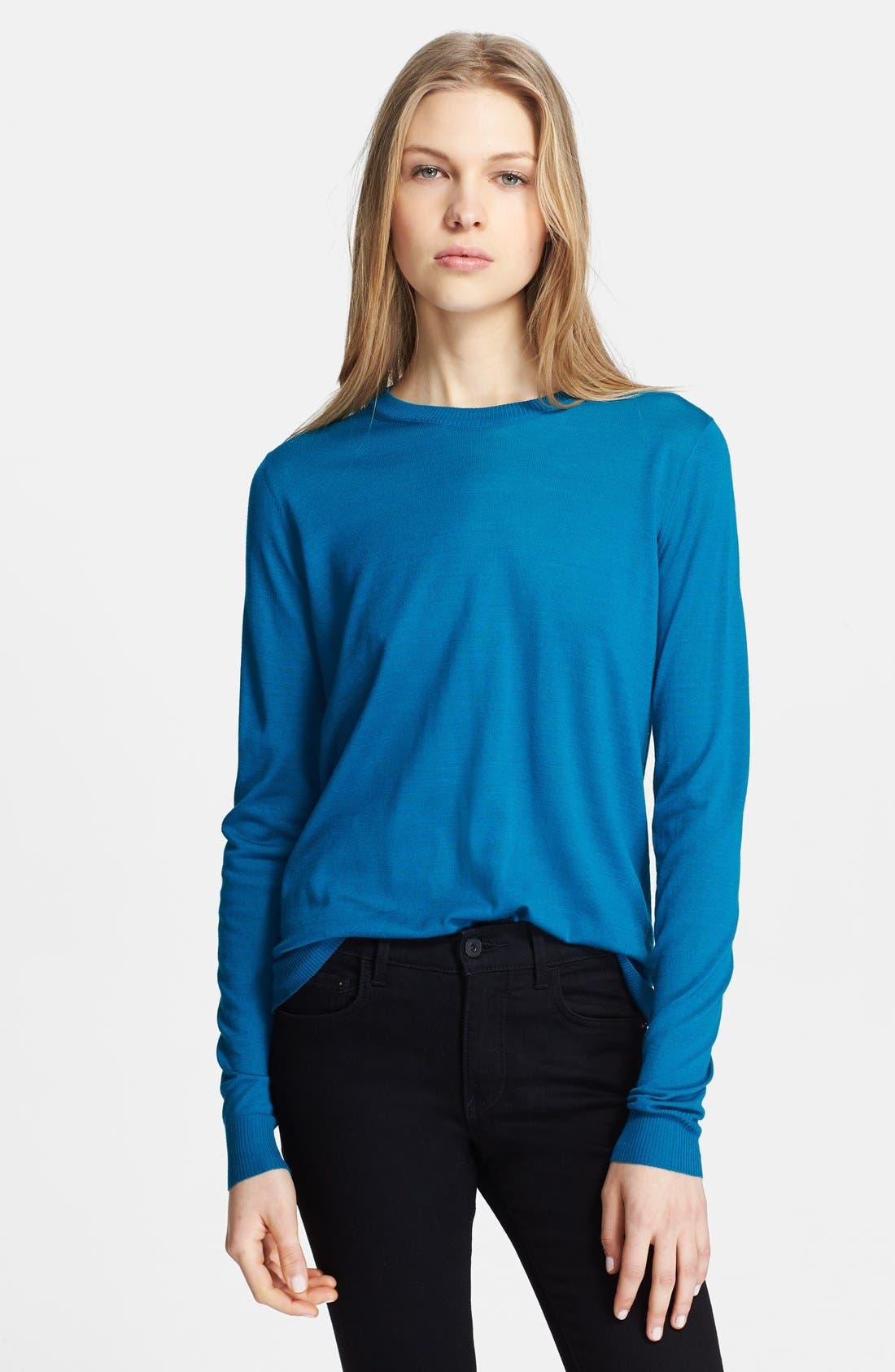 Alternate Image 1 Selected - Proenza Schouler Superfine Merino Wool Sweater