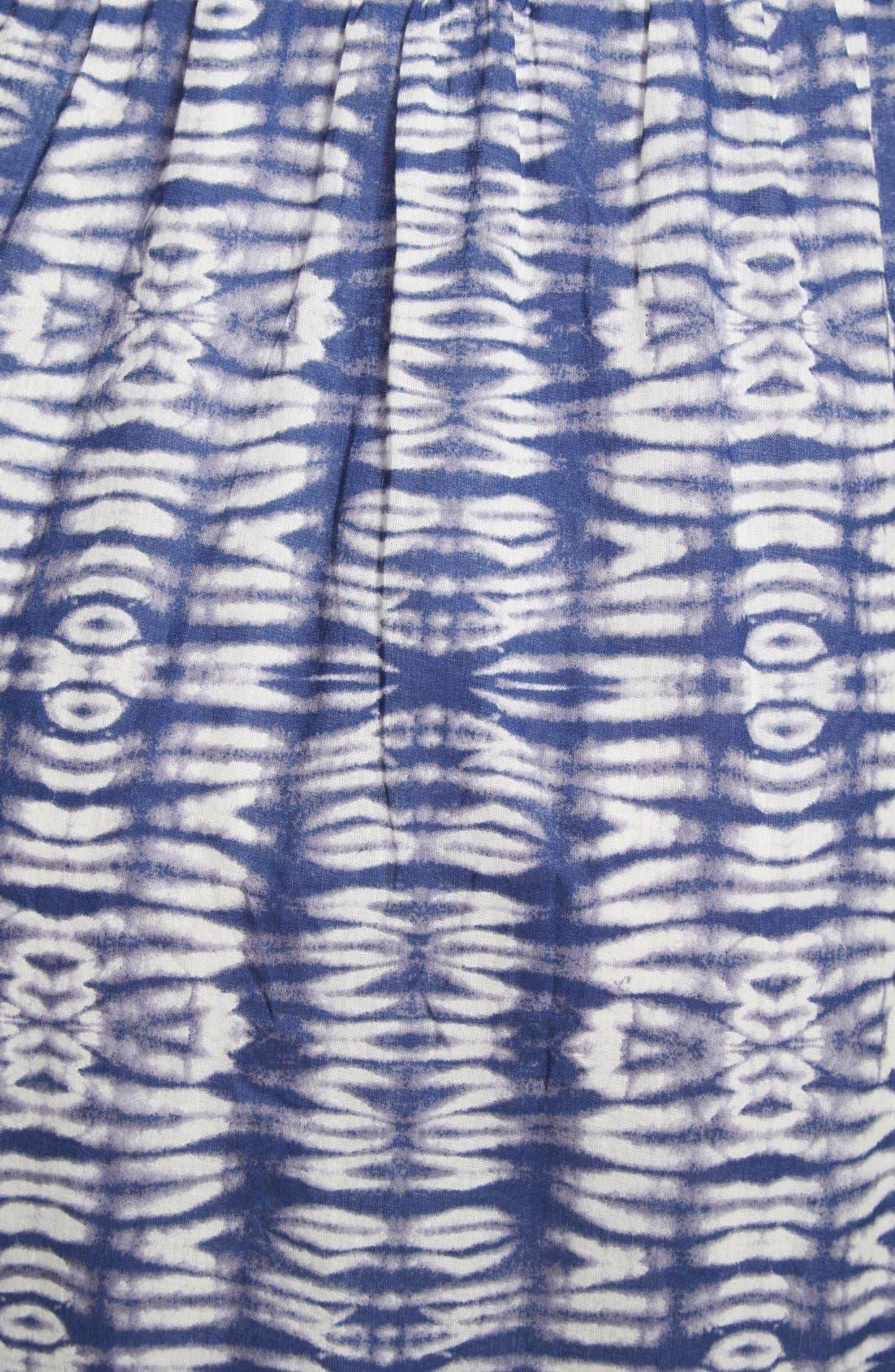 Alternate Image 3  - Olive & Oak Tie Dye Cotton Maxi Dress