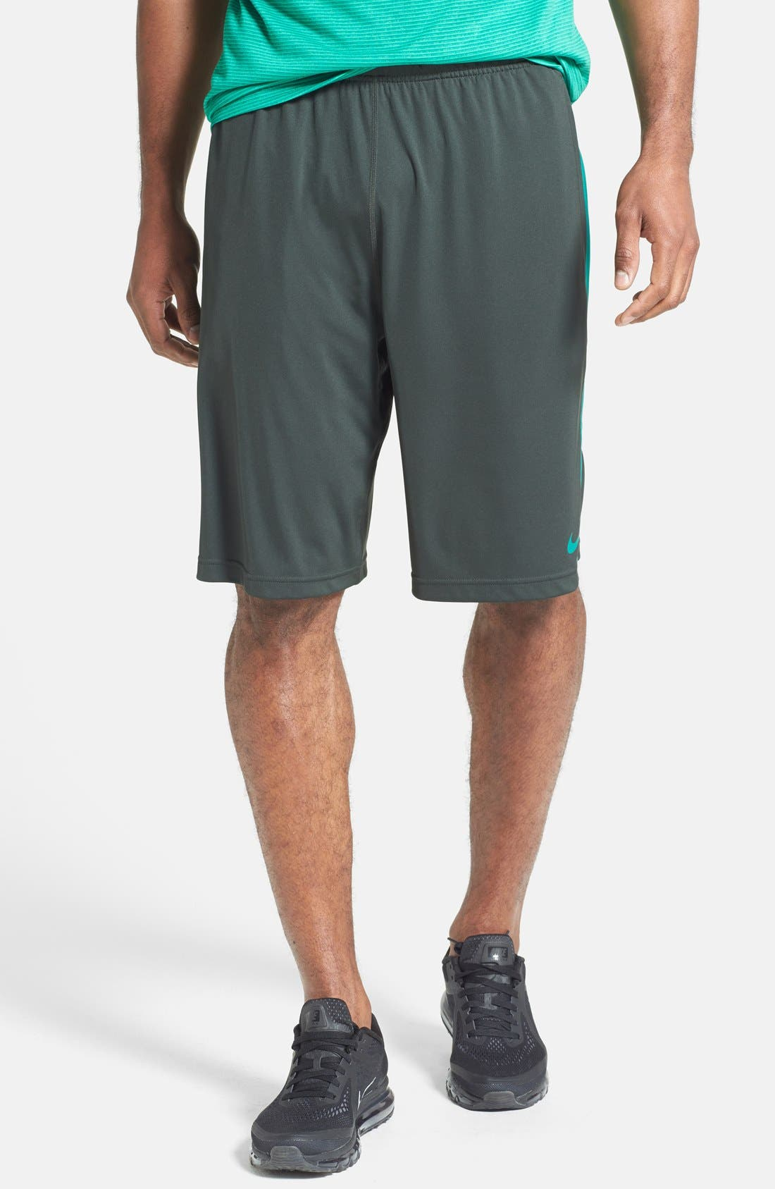 Alternate Image 1 Selected - Nike 'Fly 2.0' Dri-FIT Knit Training Shorts